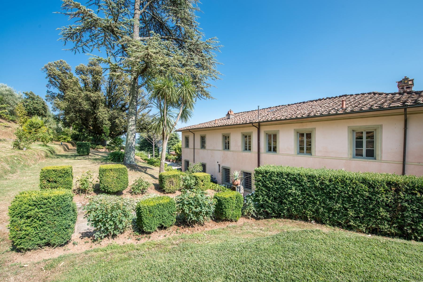 邻近Lucca的18世纪的宏伟别墅 - 14