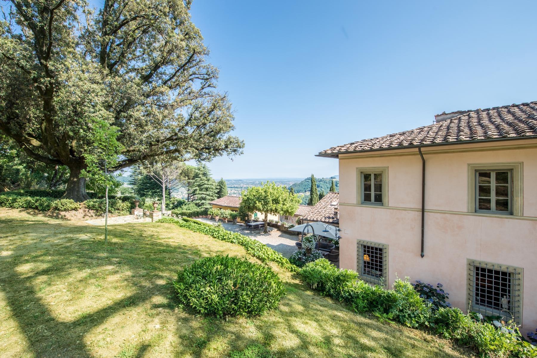 邻近Lucca的18世纪的宏伟别墅 - 15