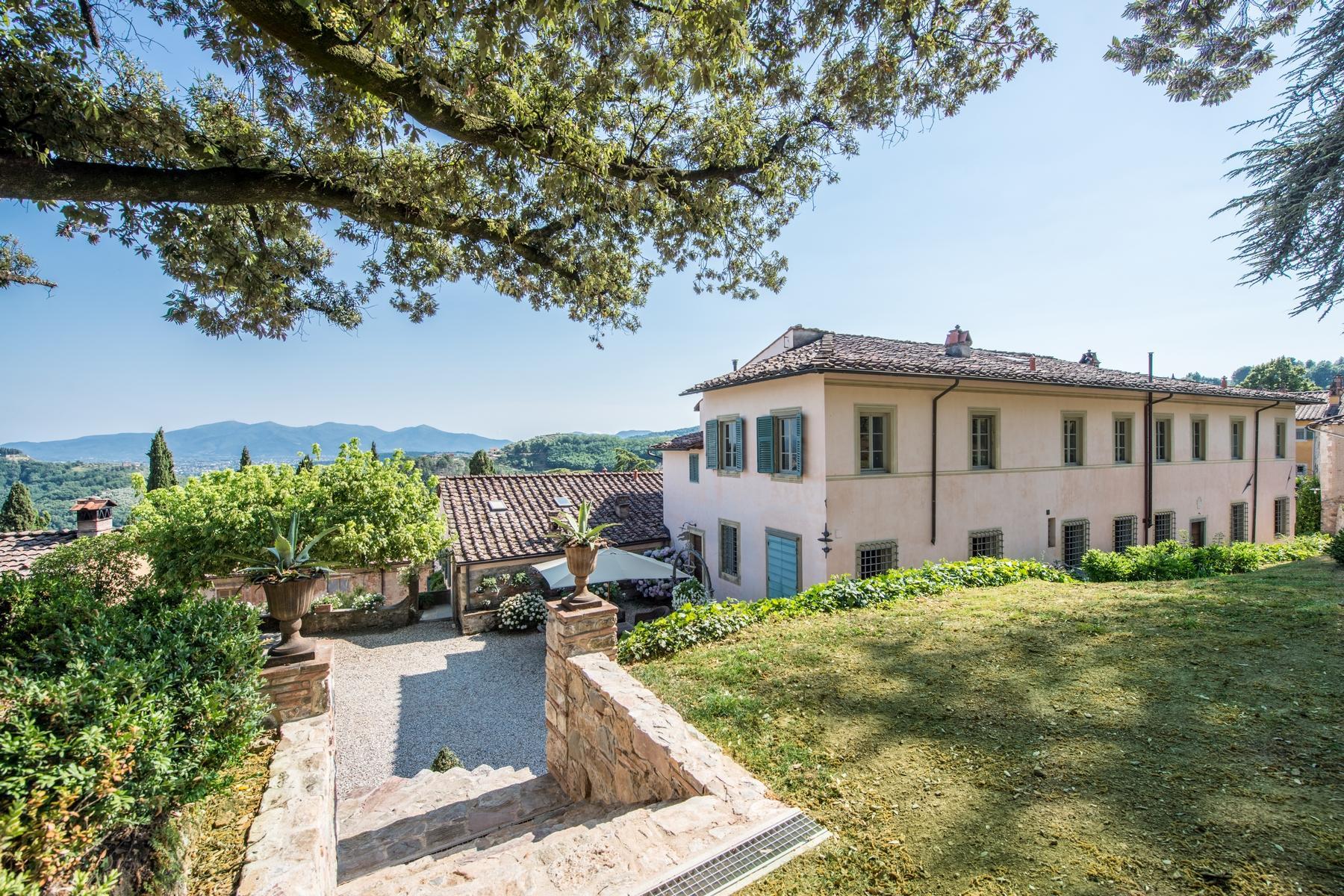 邻近Lucca的18世纪的宏伟别墅 - 16