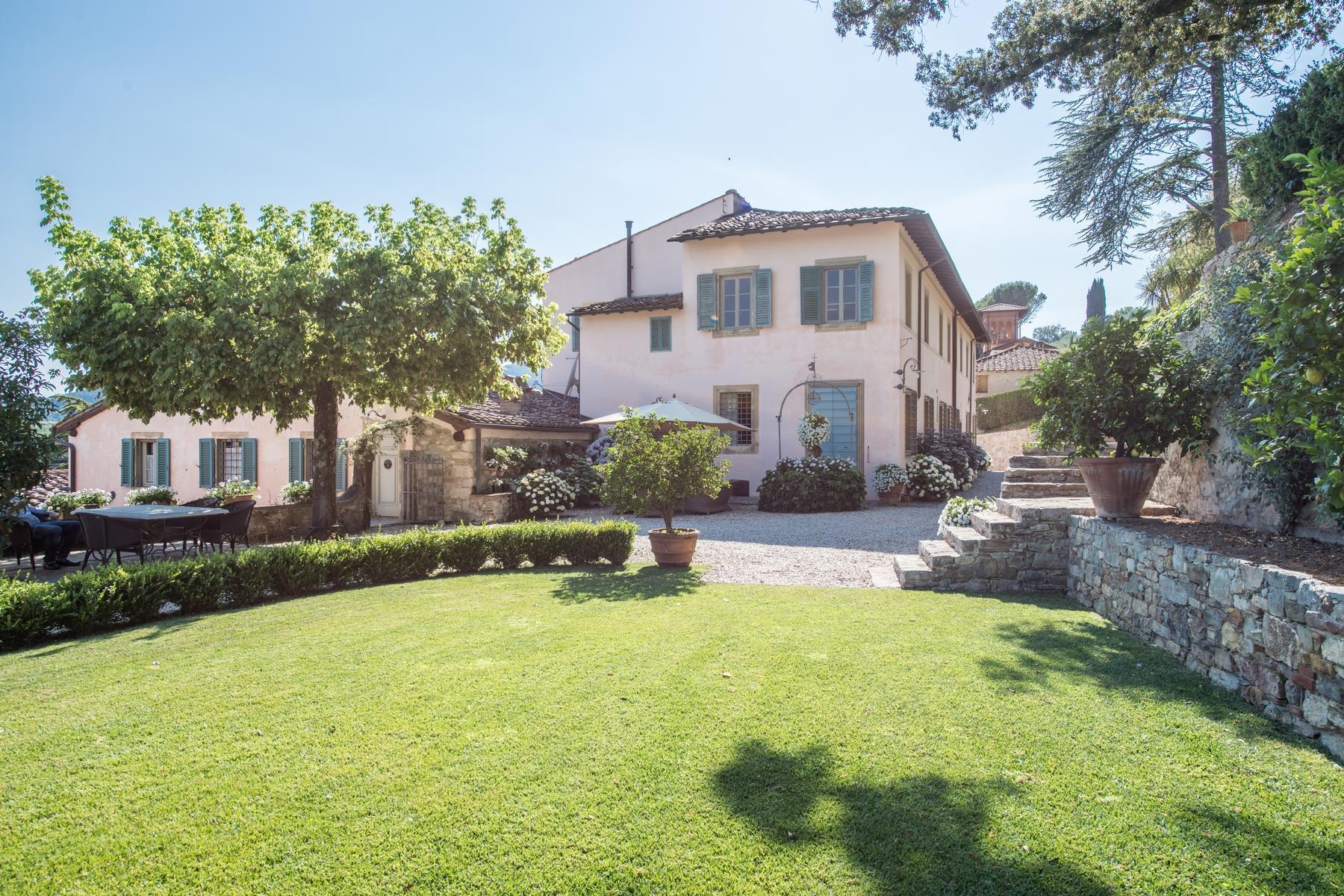 邻近Lucca的18世纪的宏伟别墅 - 17