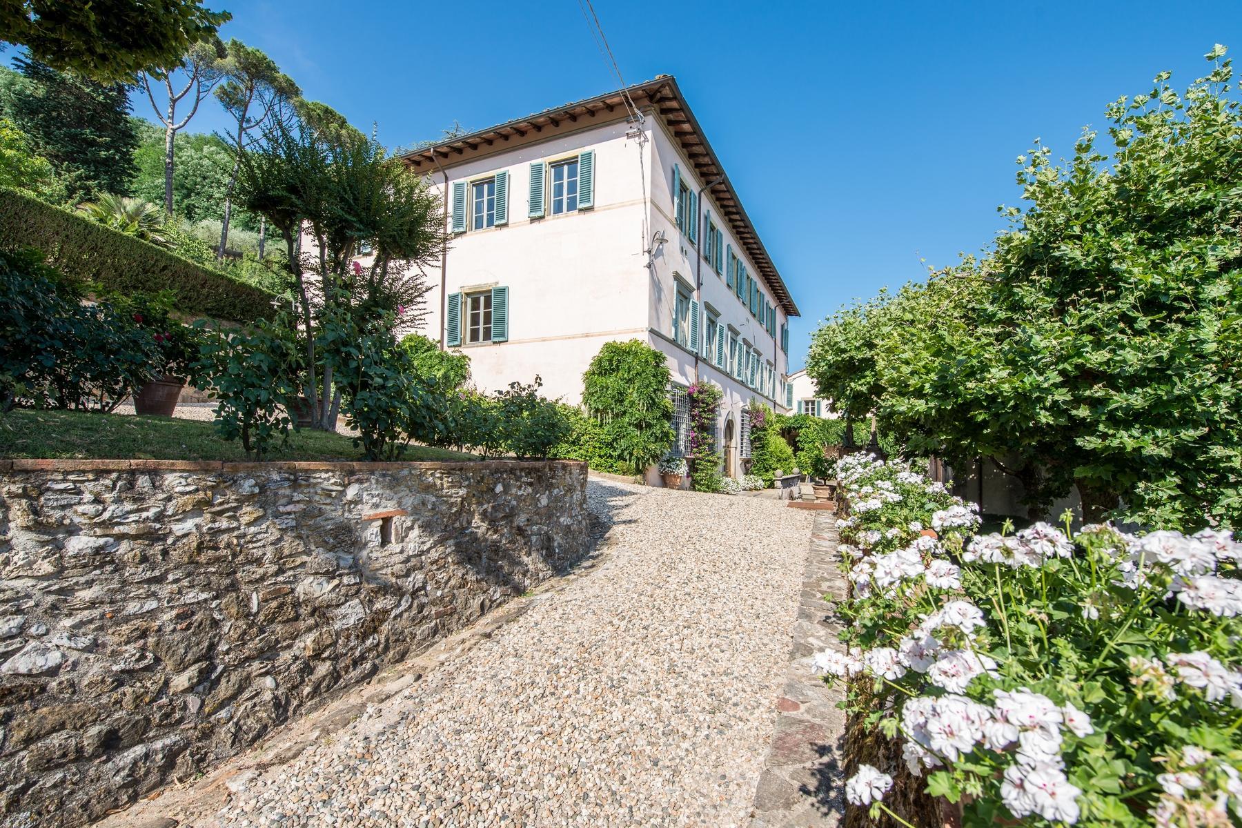 邻近Lucca的18世纪的宏伟别墅 - 20