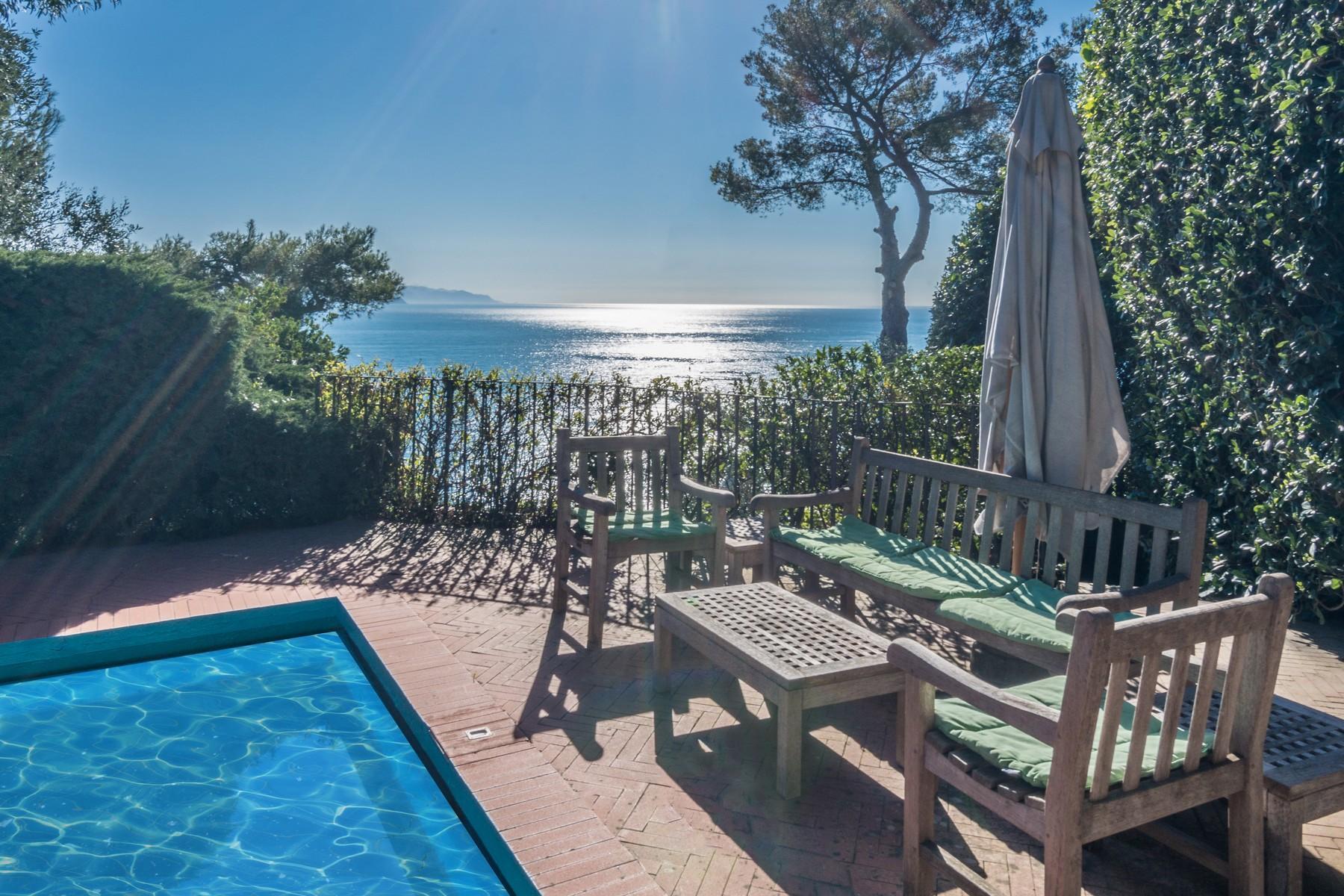 可俯瞰Portofino海湾的优雅别墅 - 32