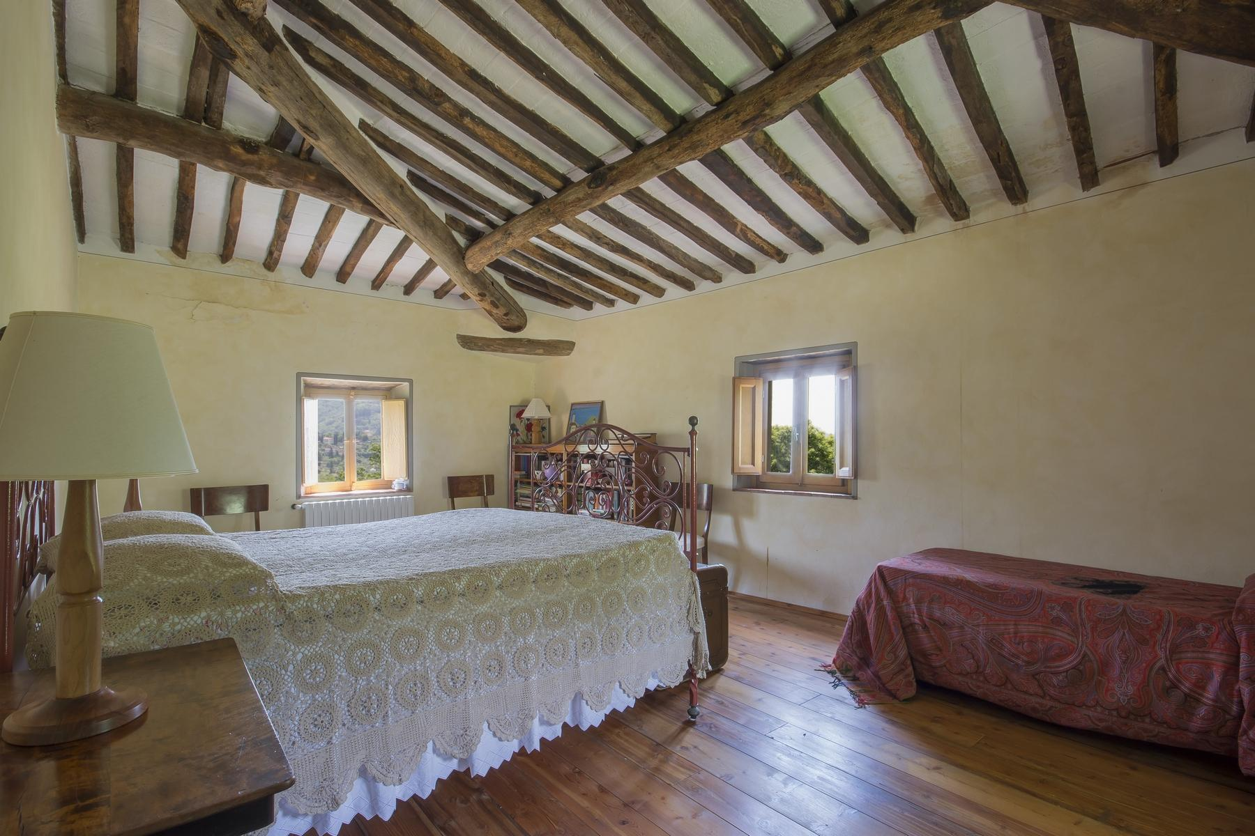 Medieval farmhouse immersed in the green of the Tuscan hills - 12