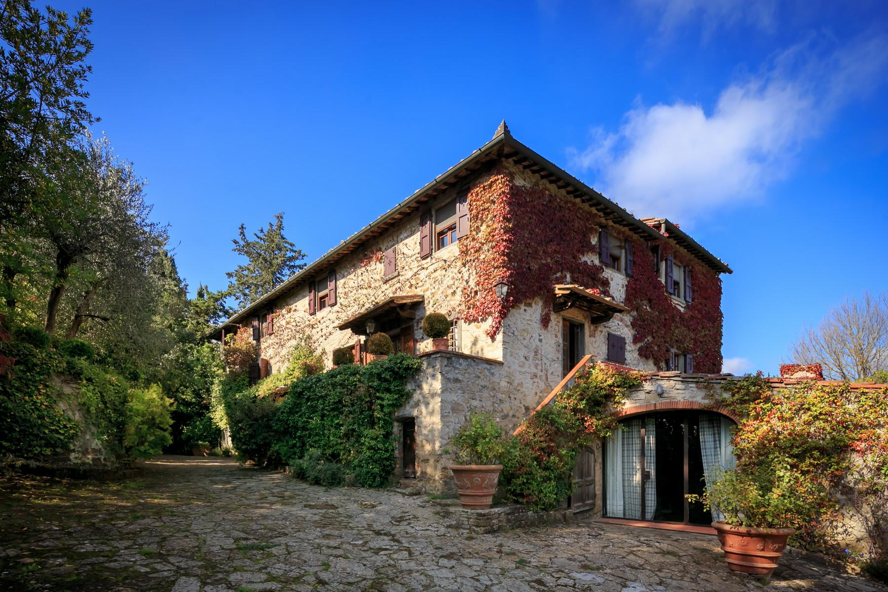 Wonderful farmhouse in the Chianti hills - 12