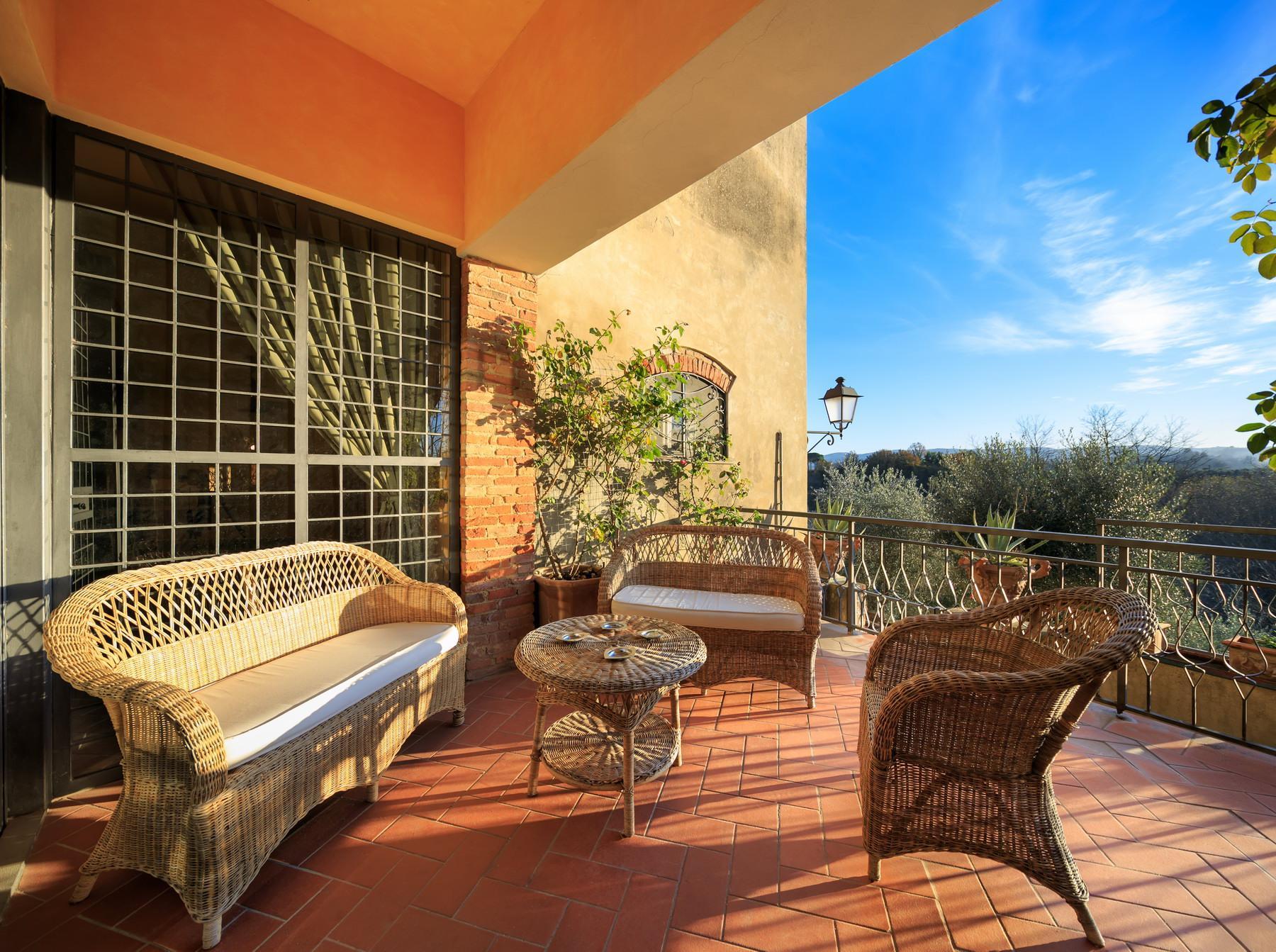 Wunderschöne Villa auf dem Land von Pisa - 7