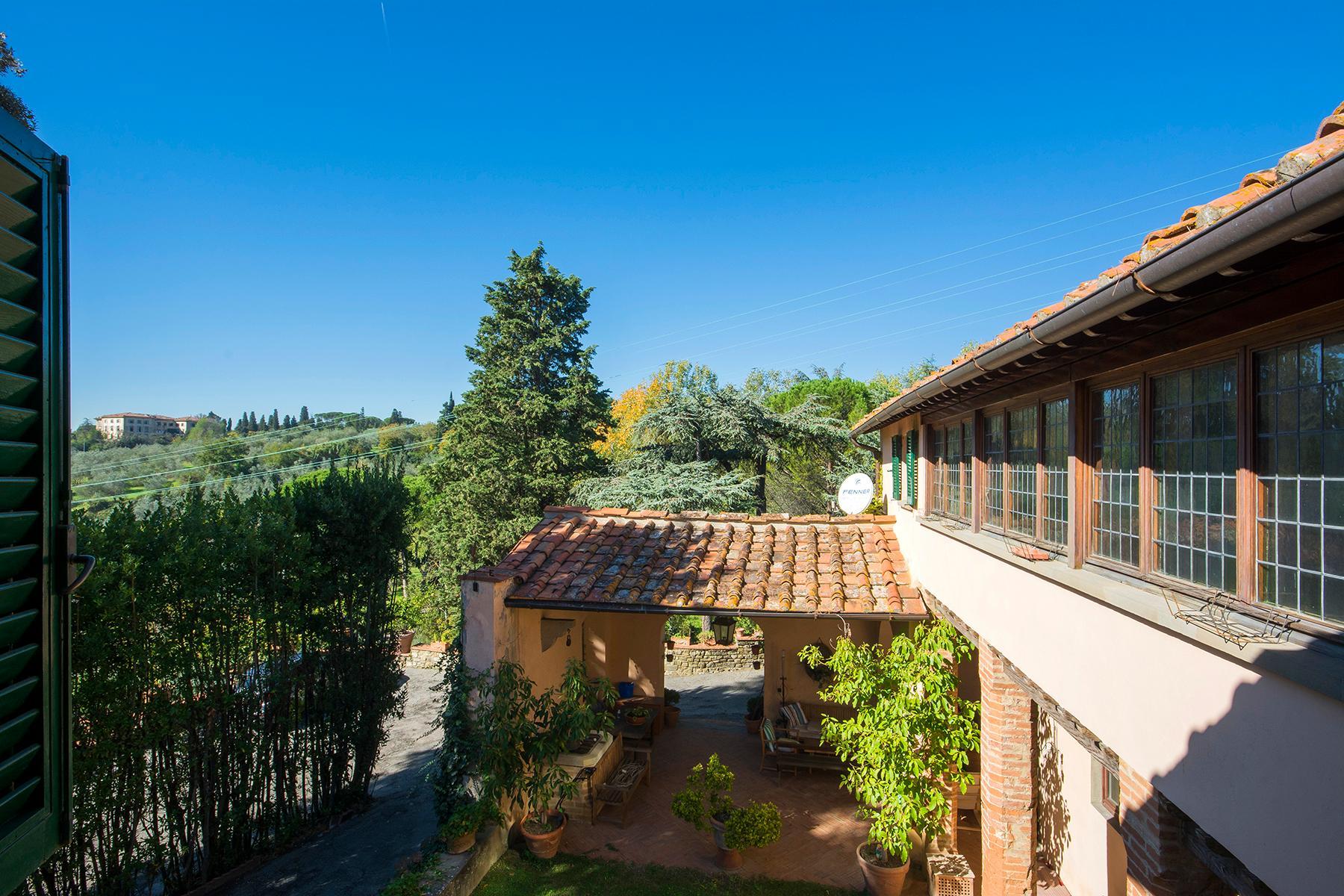 Wunderschöne Villa auf den Hügeln von Florenz - 10