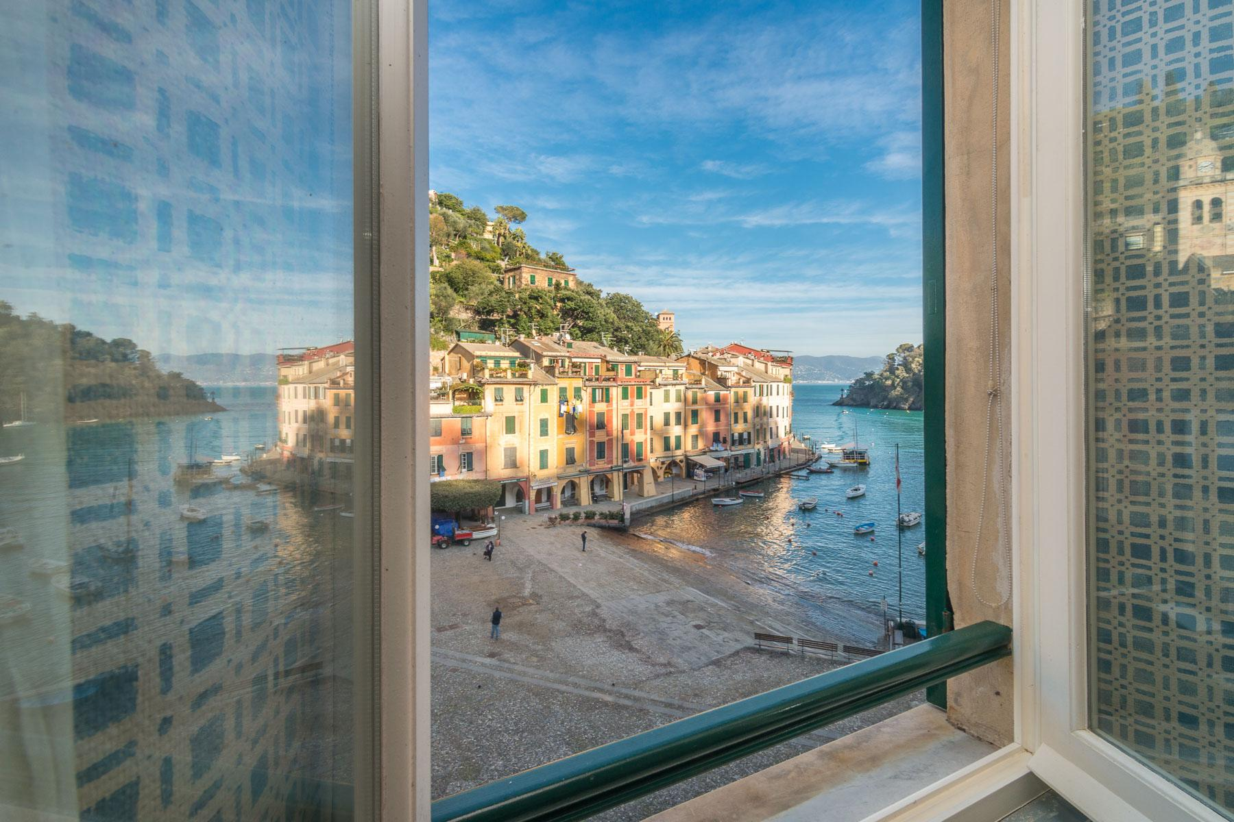 Penthouse overlooking the Piazzetta and Portofino Bay - 12