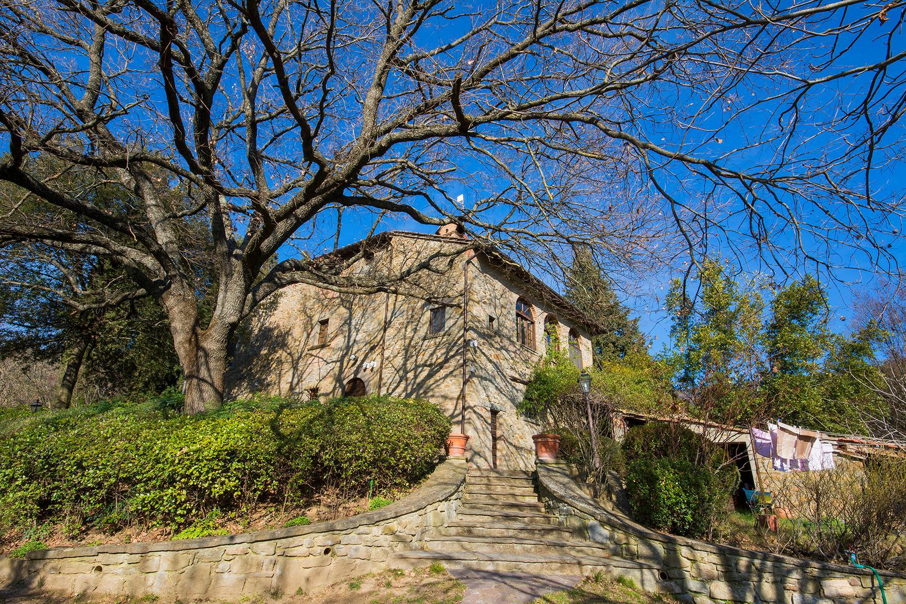 Magnificent villa with a breathtaking view in Cortona - 21