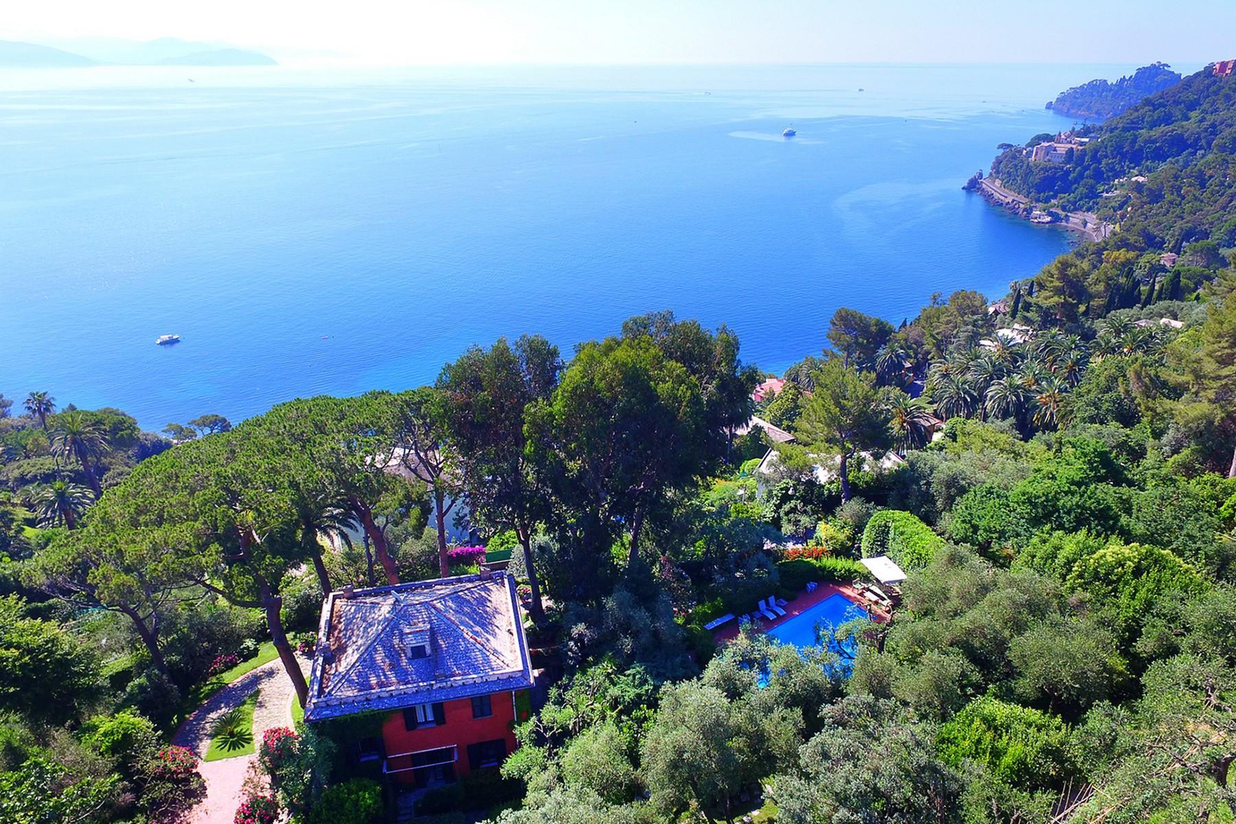 可俯瞰Portofino海湾的优雅别墅 - 22
