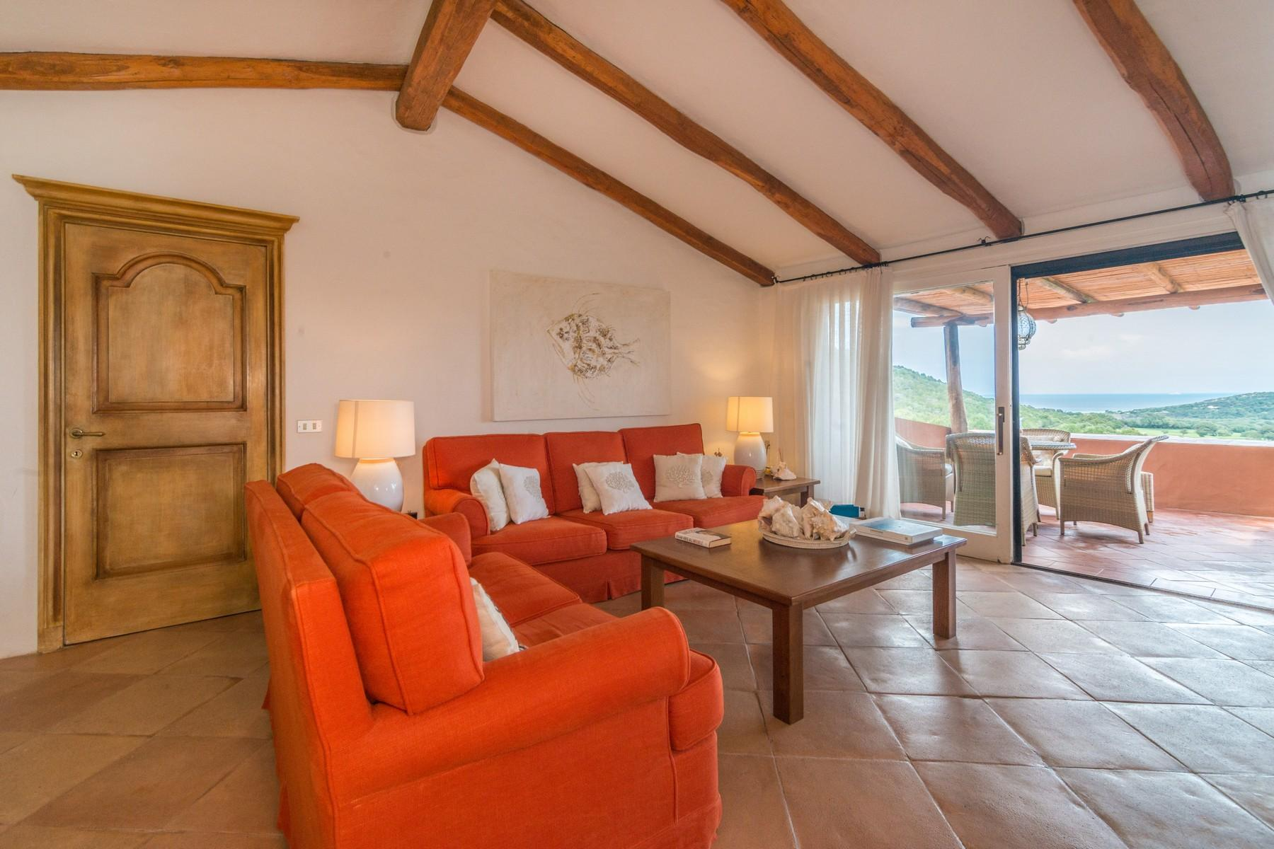 Porto Cervo Pevero Golf Beautiful apartment in the setting of the Pevero Golf - 3