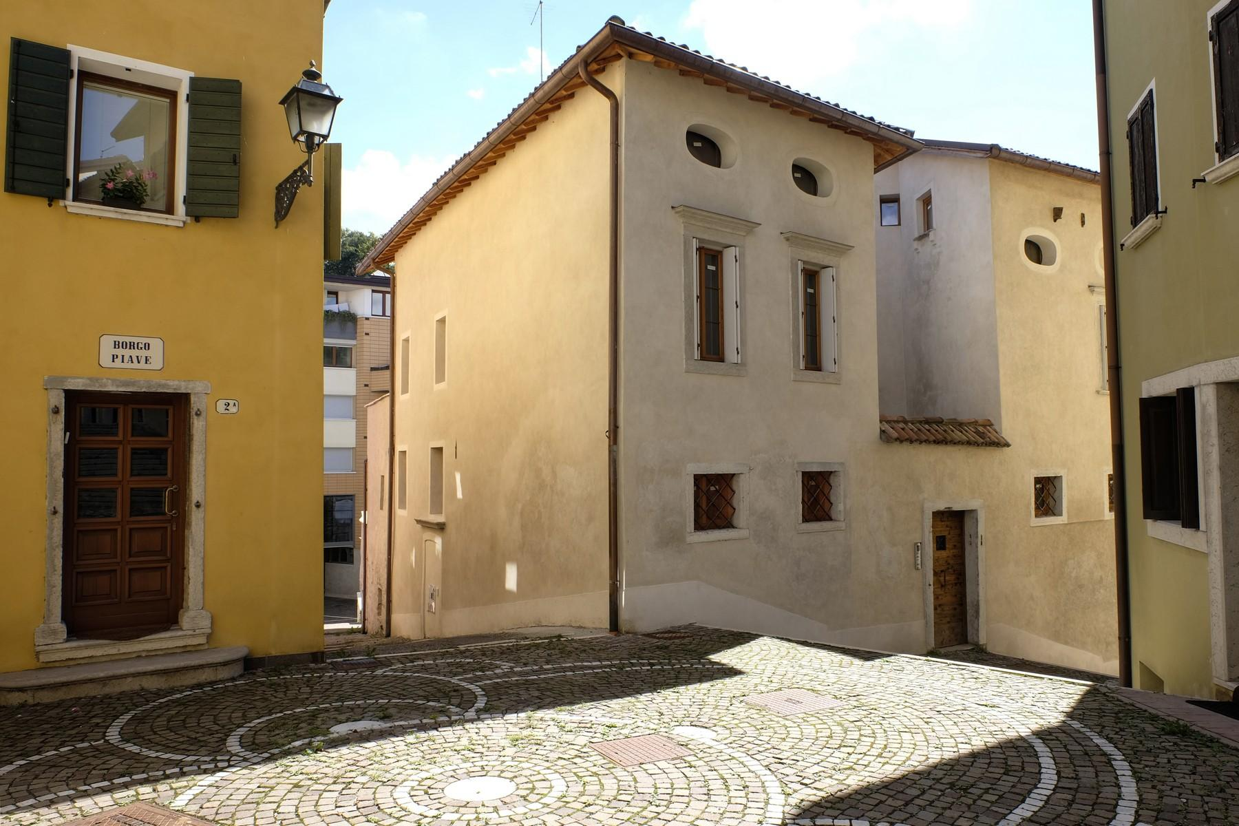 Maisonette in a charming historic building in the heart of the ancient Belluno. - 14