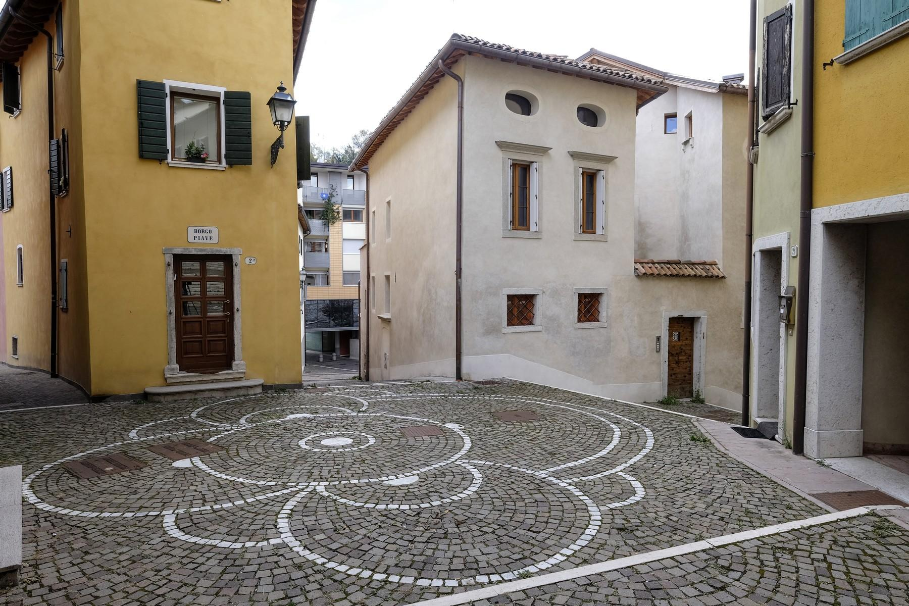 Maisonette in a charming historic building in the heart of the ancient Belluno. - 12