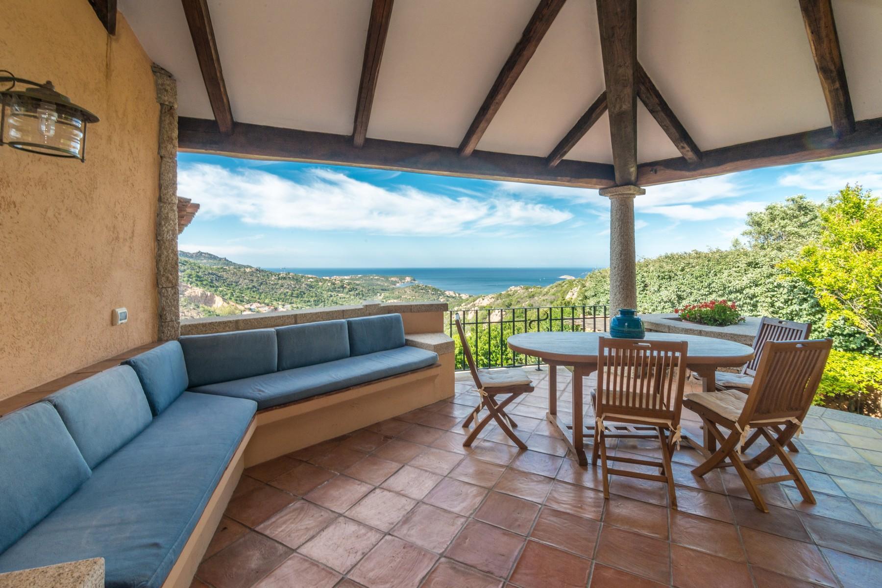 Porto Cervo Abbiadori Splendide villa jumelée avec vue sur le golfe de Pevero - 9