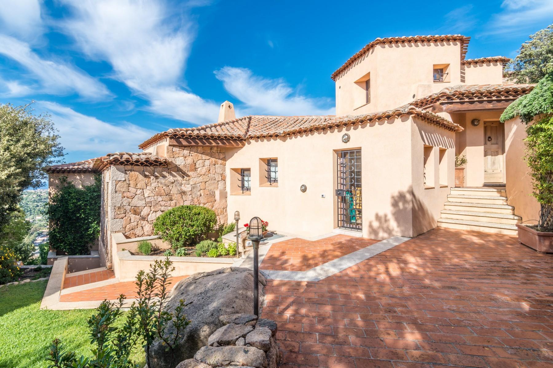 Porto Cervo Abbiadori Splendide villa jumelée avec vue sur le golfe de Pevero - 33