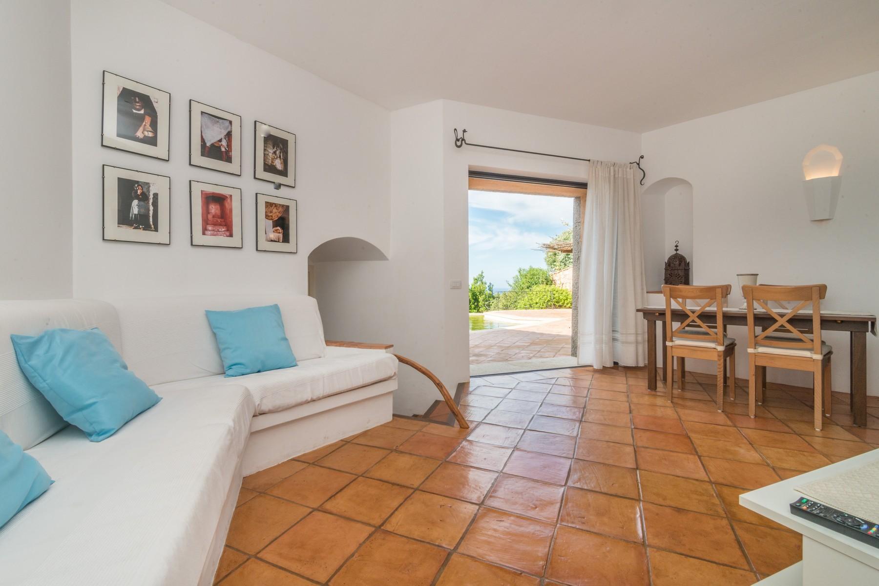 Porto Cervo Abbiadori Splendide villa jumelée avec vue sur le golfe de Pevero - 14