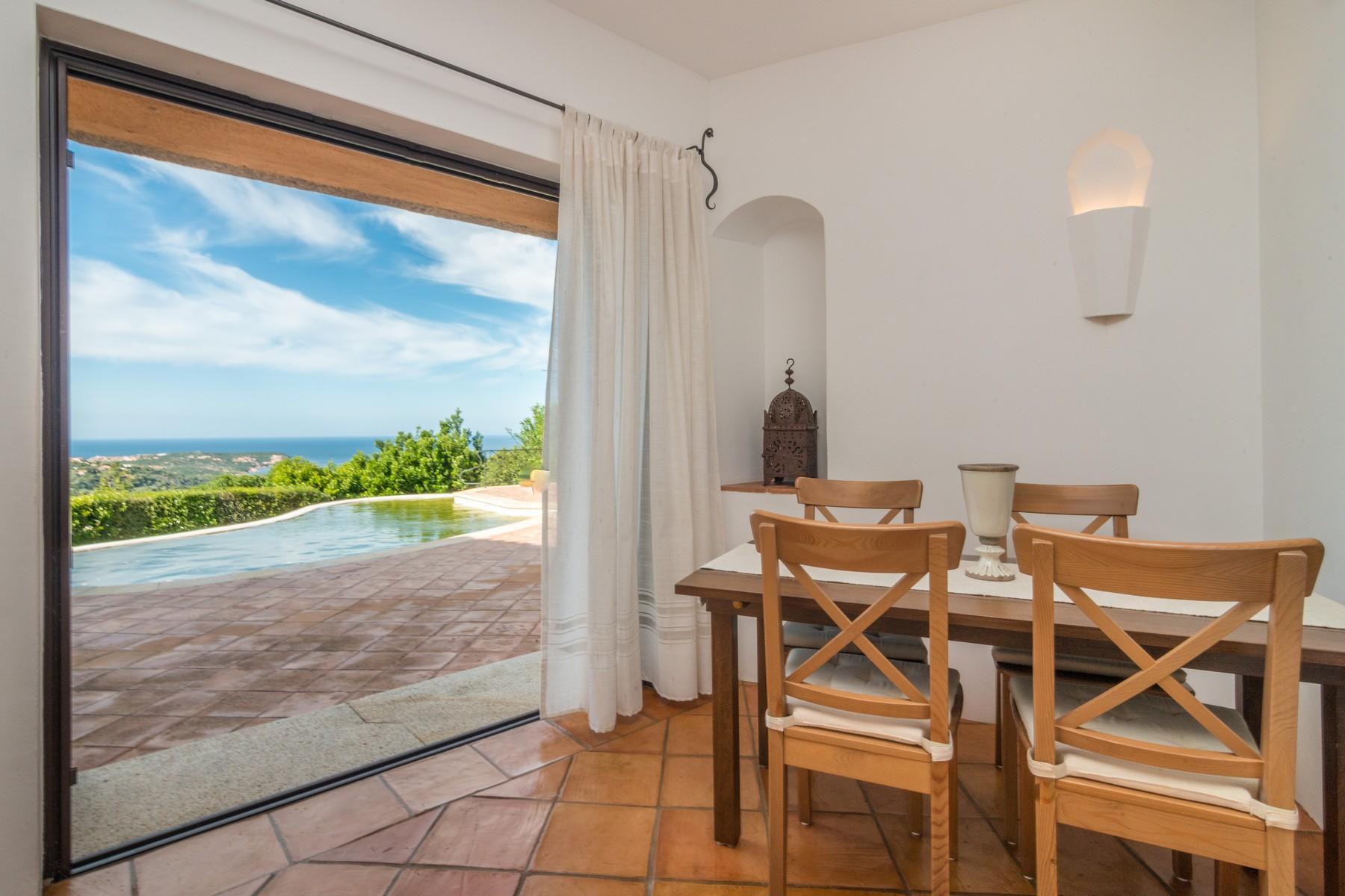 Porto Cervo Abbiadori Splendide villa jumelée avec vue sur le golfe de Pevero - 13