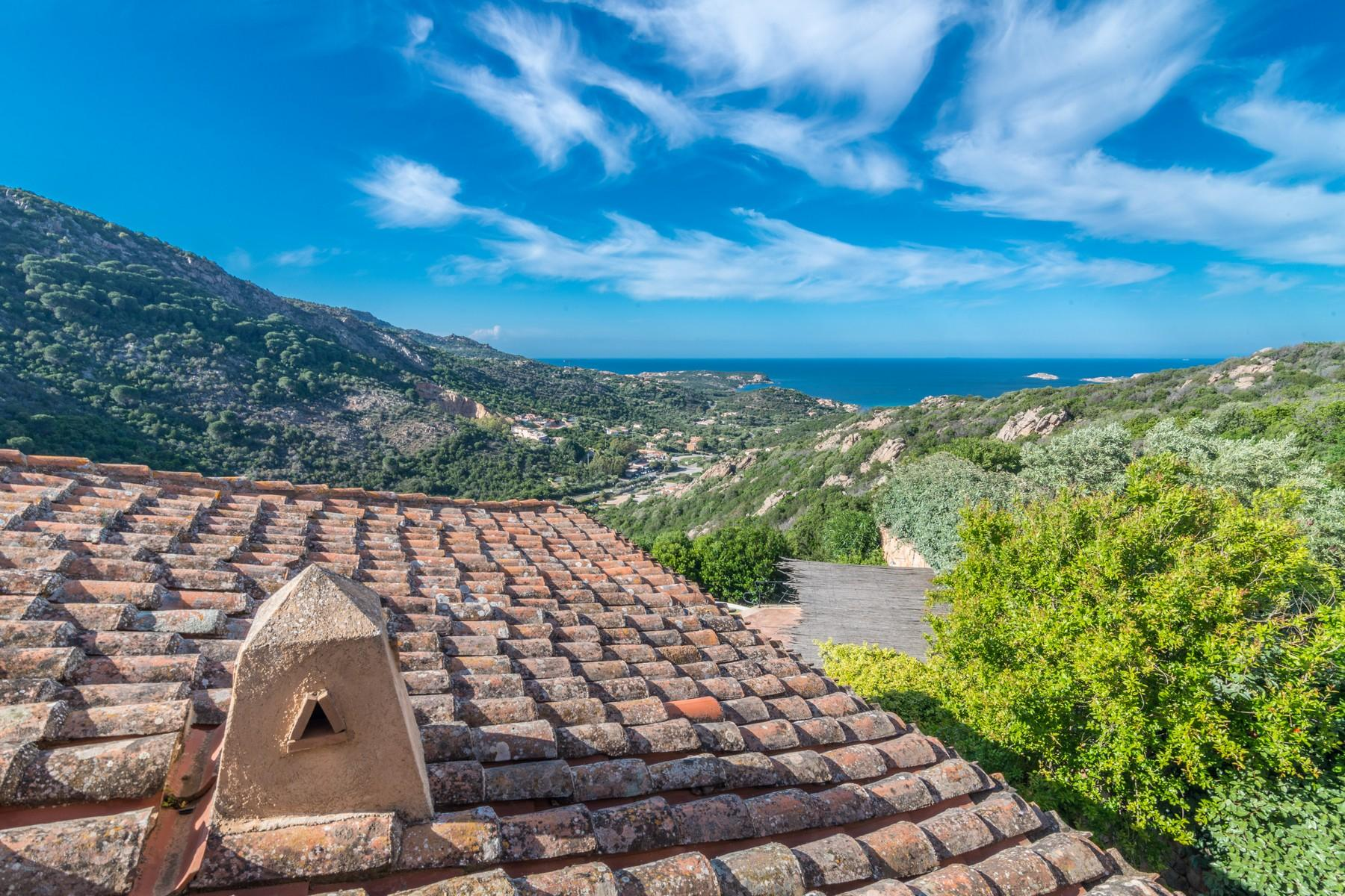 Porto Cervo Abbiadori Splendide villa jumelée avec vue sur le golfe de Pevero - 34