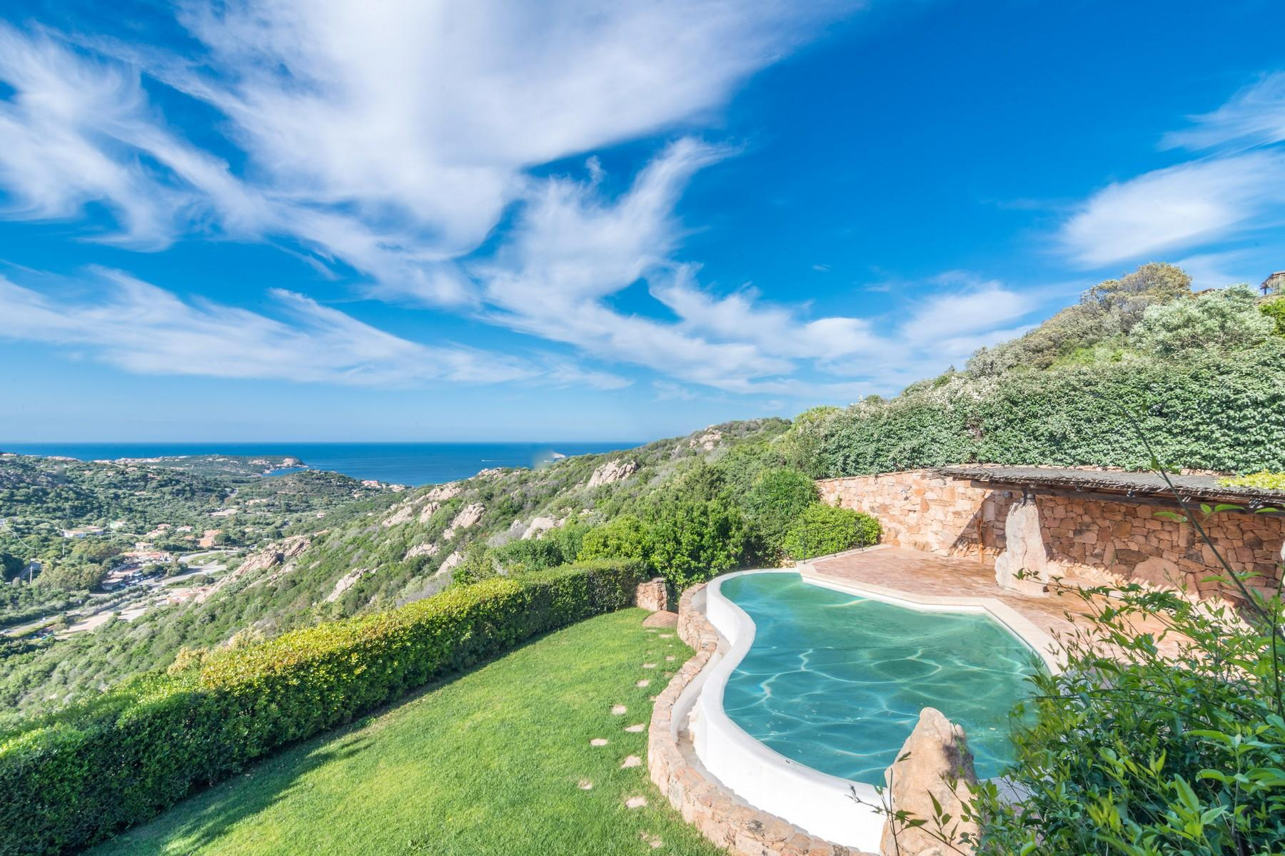 Porto Cervo Abbiadori Beautiful semi-detached villa with sea view - 3