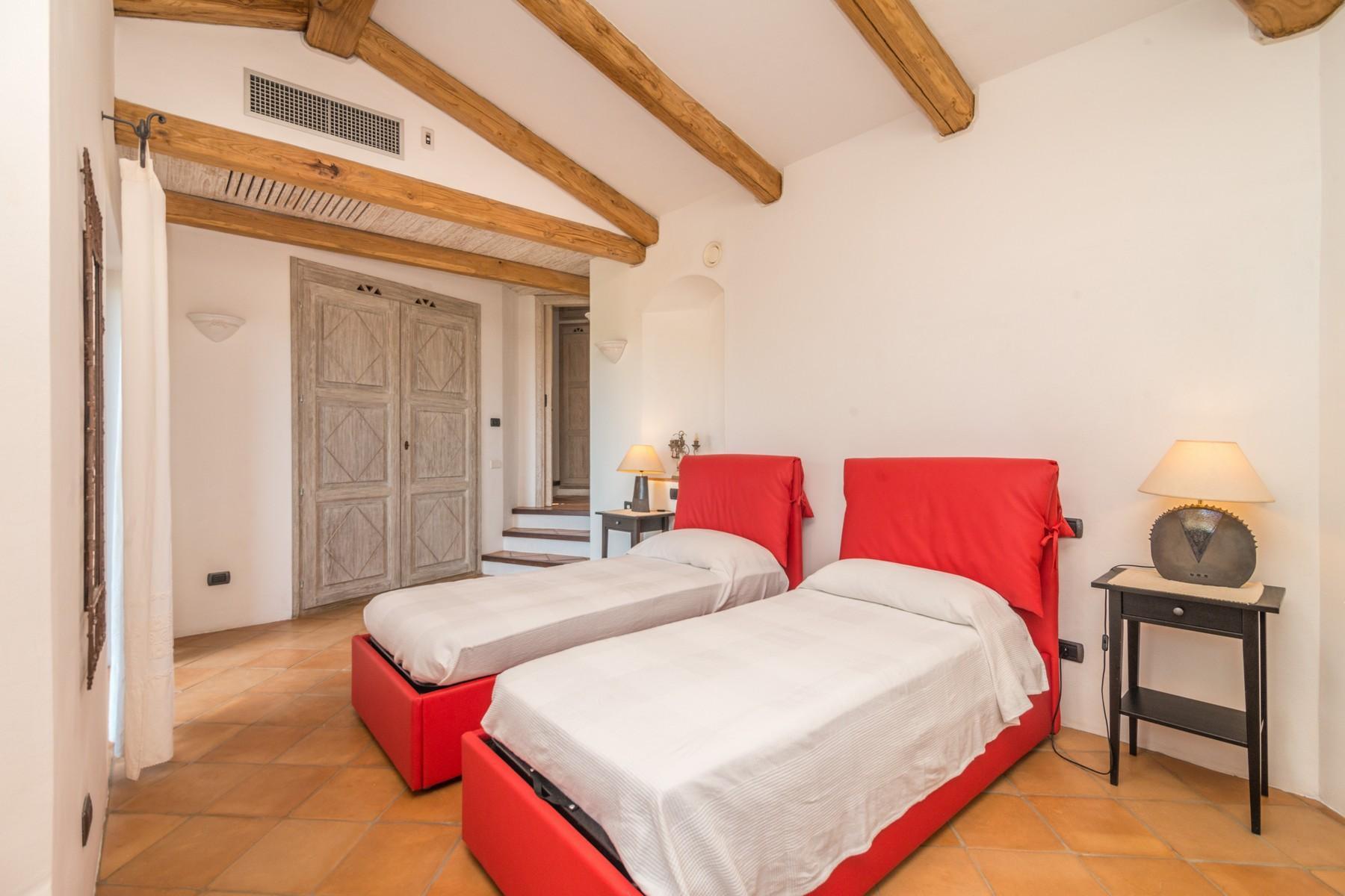 Porto Cervo Abbiadori Splendide villa jumelée avec vue sur le golfe de Pevero - 25