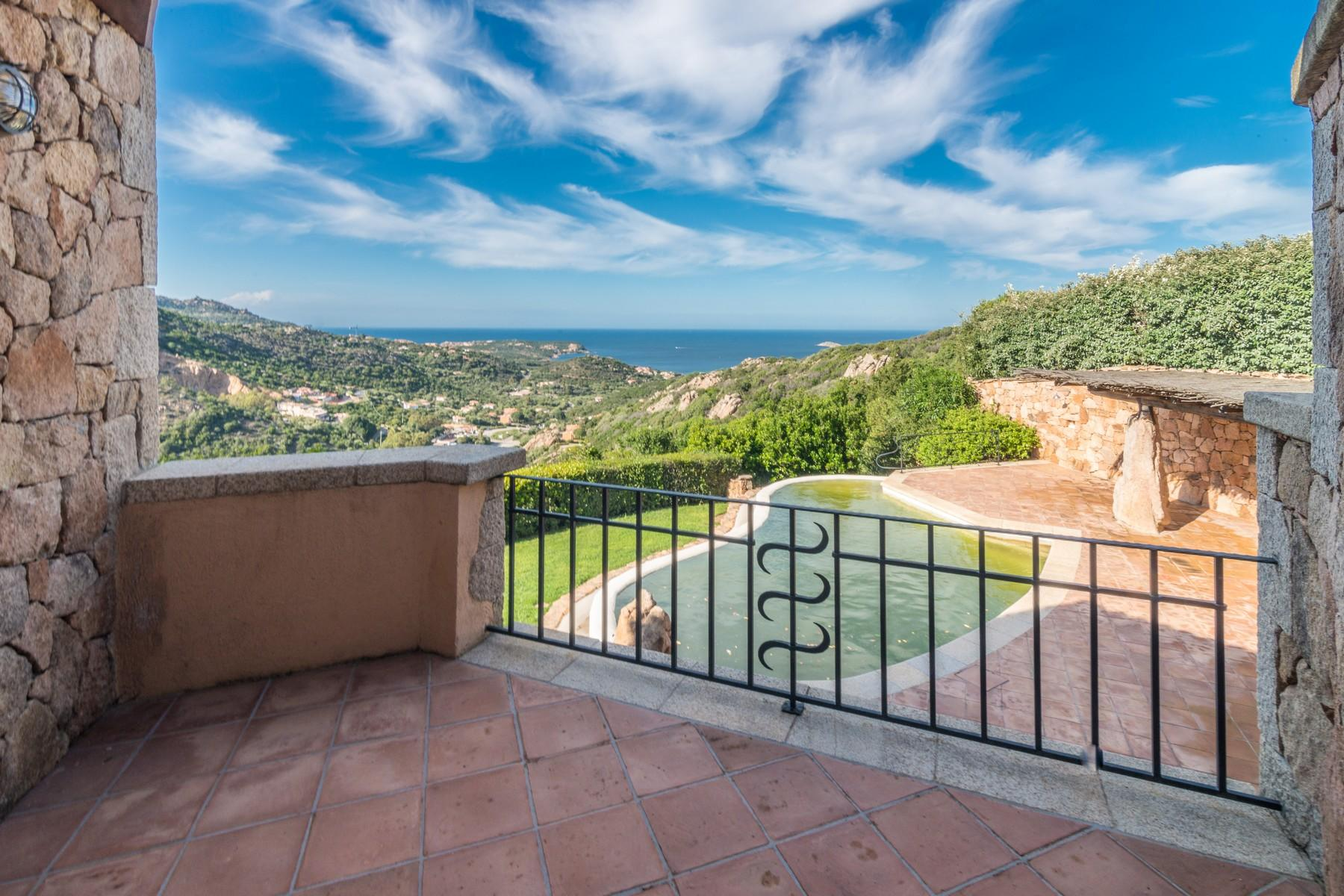 Porto Cervo Abbiadori Beautiful semi-detached villa with sea view - 35