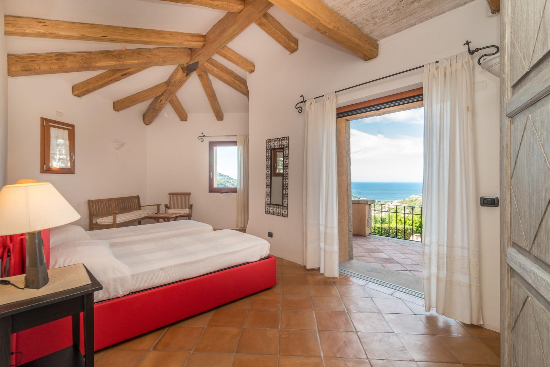 Porto Cervo Abbiadori Splendide villa jumelée avec vue sur le golfe de Pevero - 26