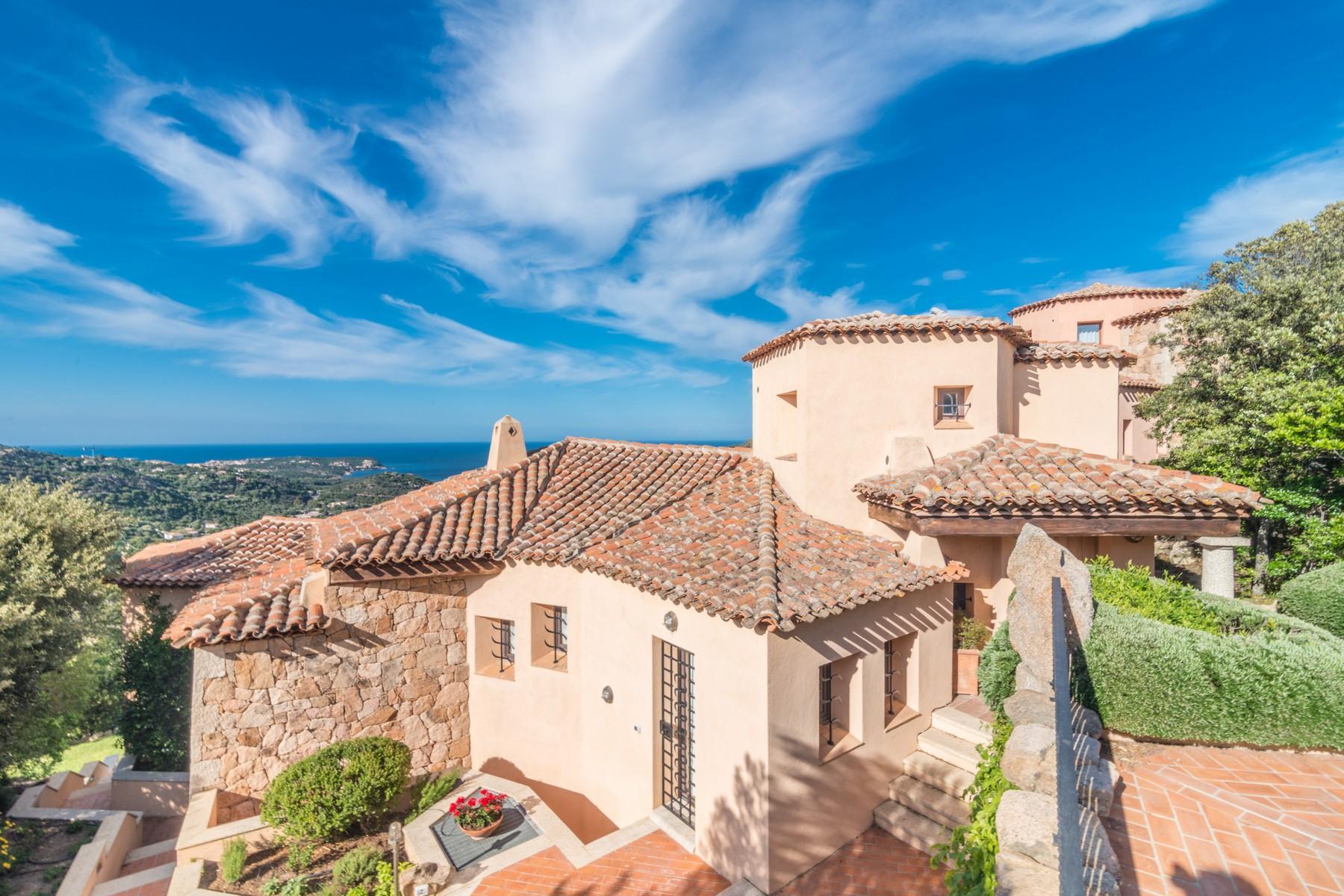 Porto Cervo Abbiadori Splendide villa jumelée avec vue sur le golfe de Pevero - 36