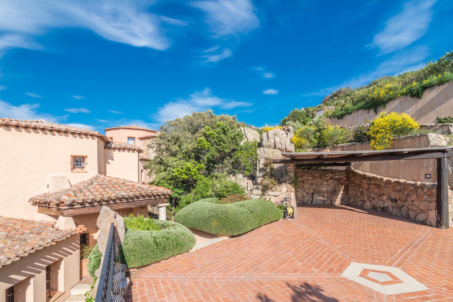 Porto Cervo Abbiadori Splendide villa jumelée avec vue sur le golfe de Pevero - 37