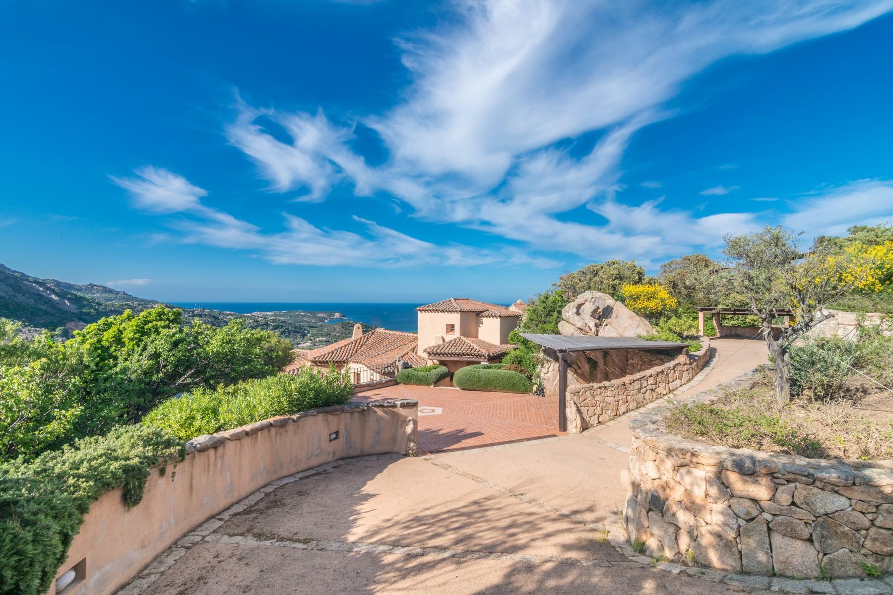 Porto Cervo Abbiadori Splendide villa jumelée avec vue sur le golfe de Pevero - 38