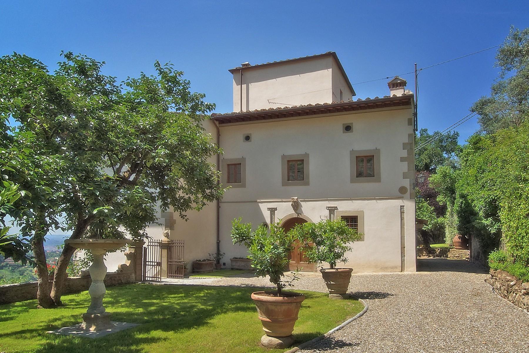 Merveilleuse villa avec piscine sur les collines de Florence - 4