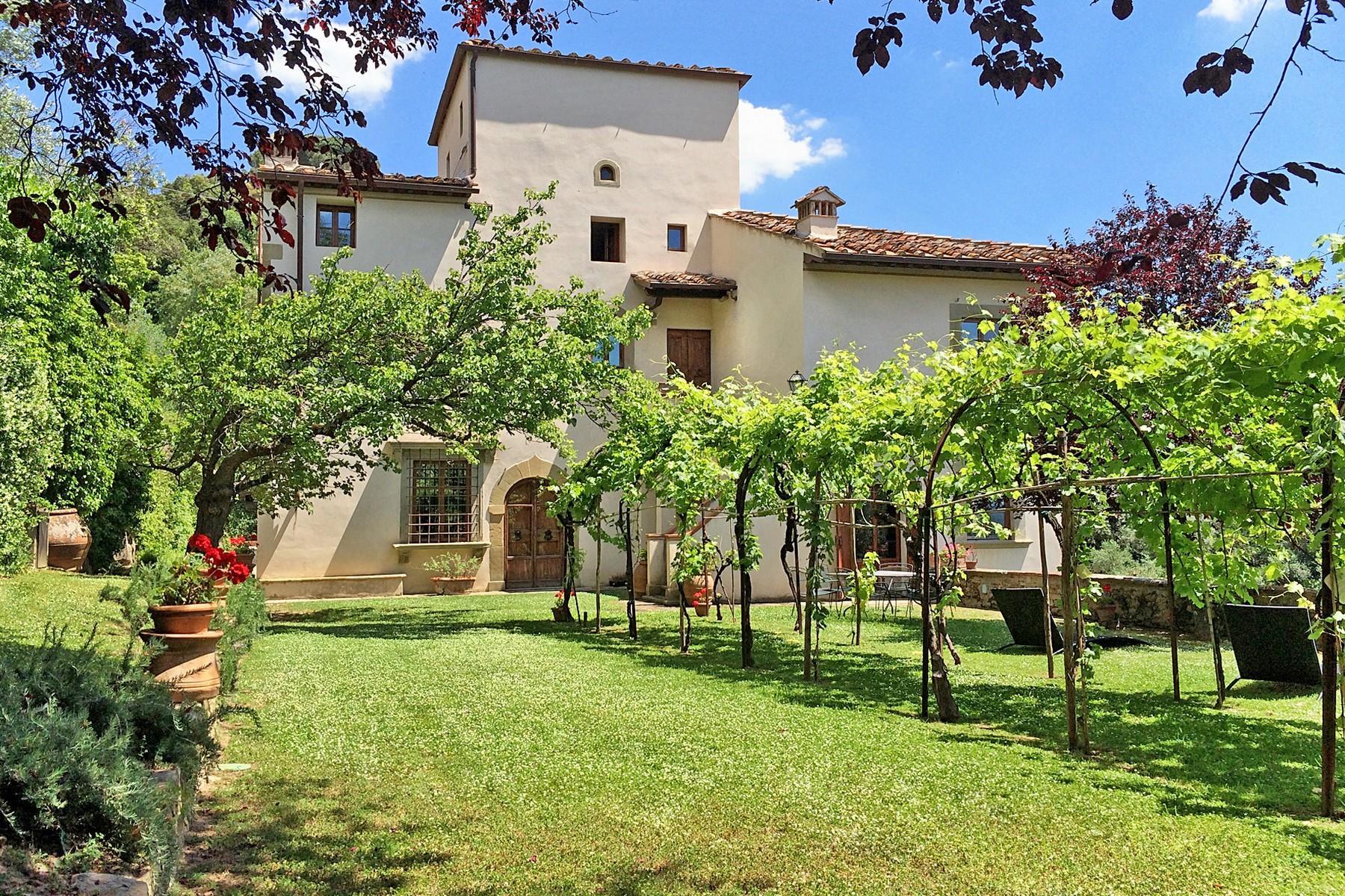 Wunderschöne Villa mit Pool auf den Hügeln von Florenz - 5
