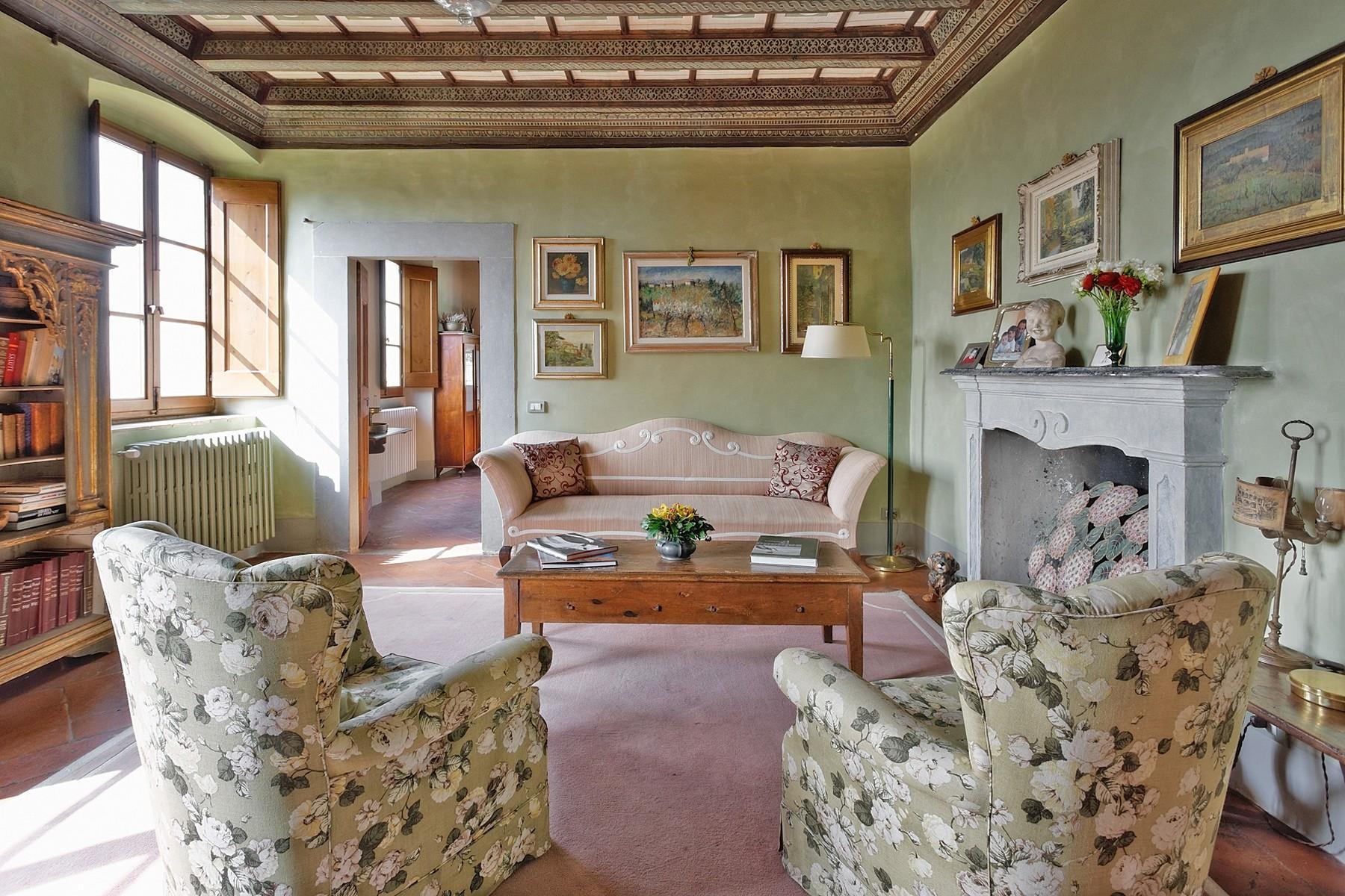Wunderschöne Villa mit Pool auf den Hügeln von Florenz - 6
