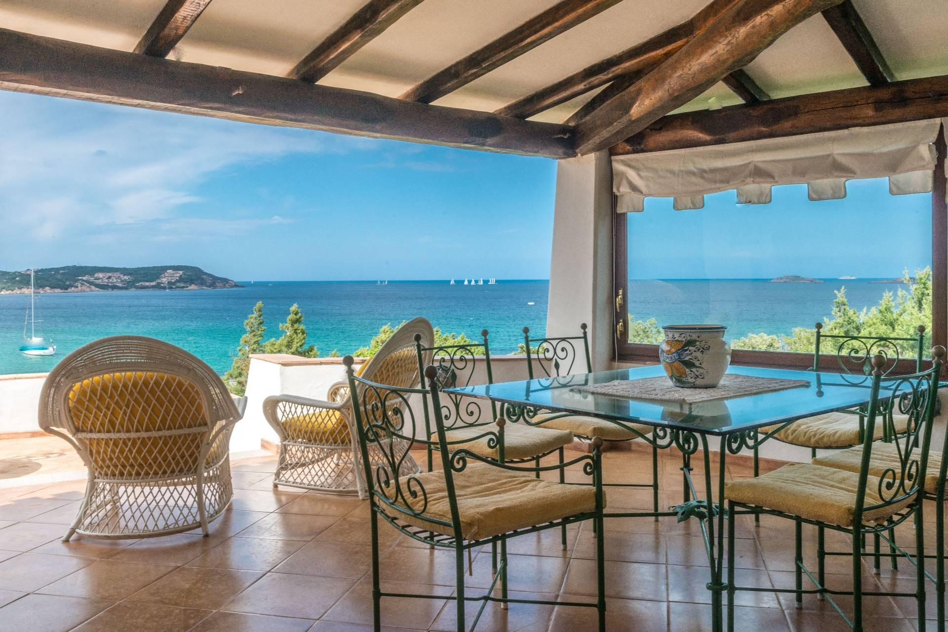 Porto Cervo, Pevero Villa with panoramic view on the Pevero Bay - 2