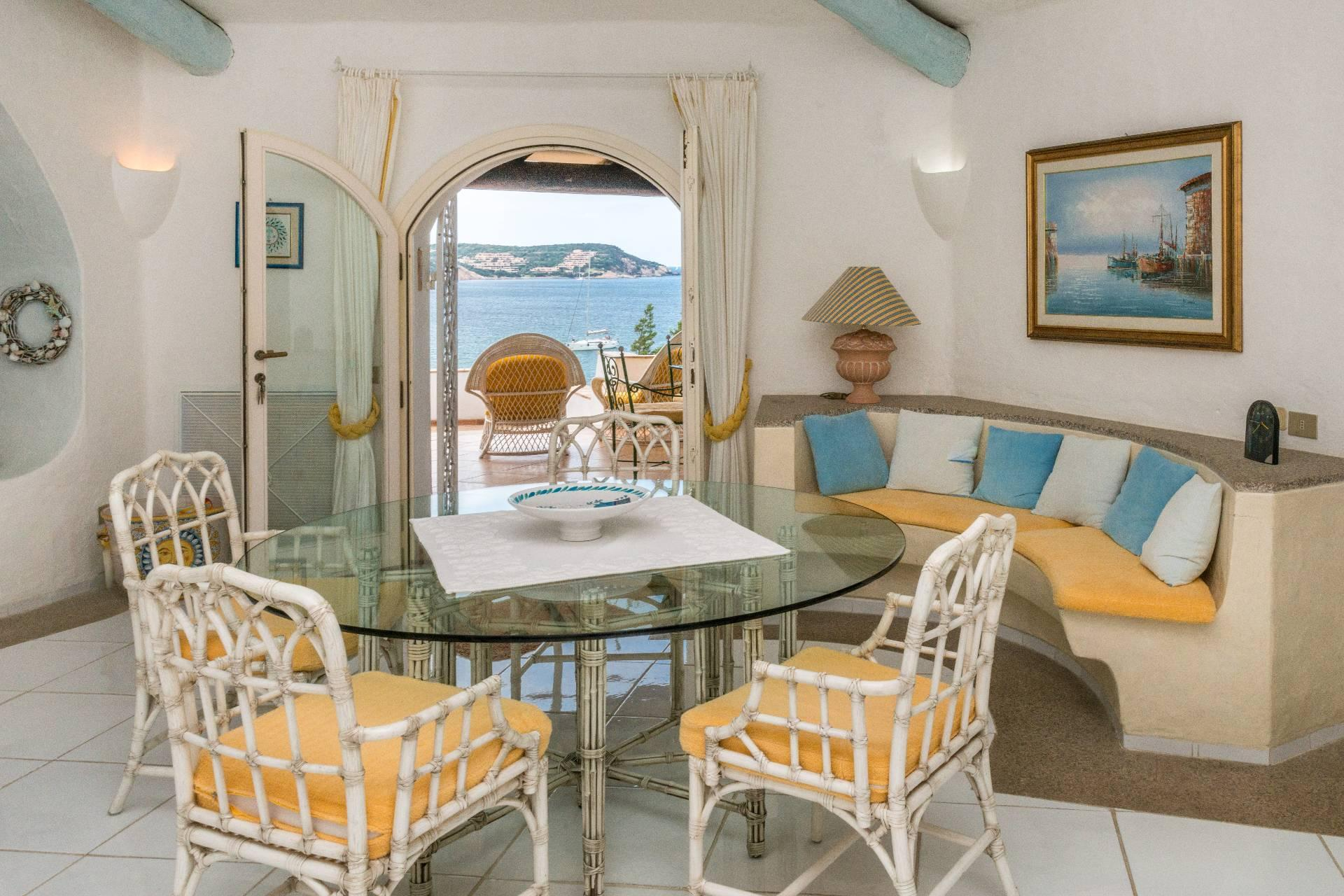 Porto Cervo, Pevero Villa avec vue panoramique incomparable sur la baie de Pevero - 7