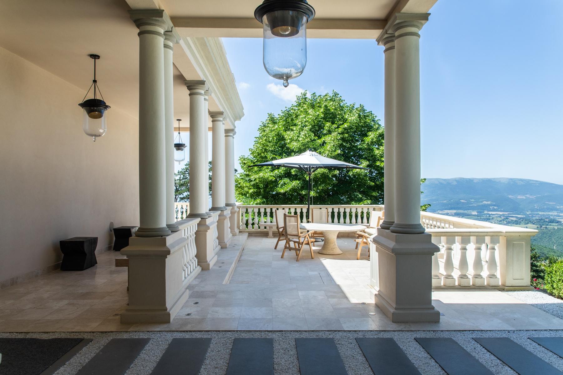 Maestosa villa liberty nelle colline di Gubbio - 12