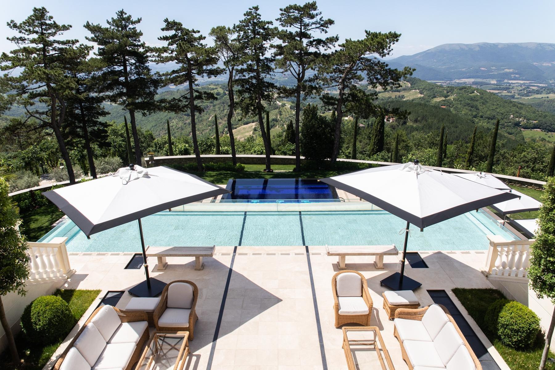 Maestosa villa liberty nelle colline di Gubbio - 19