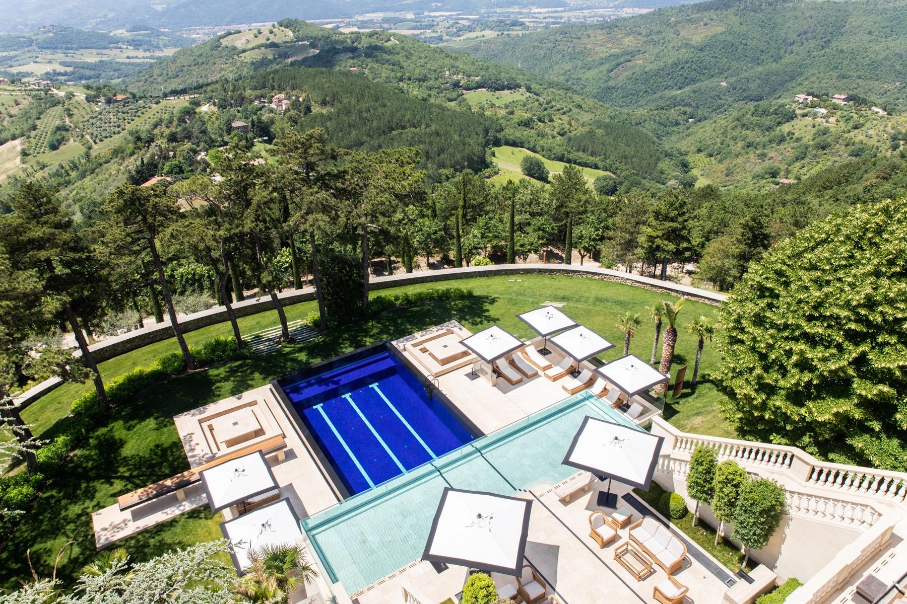 Maestosa villa liberty nelle colline di Gubbio - 16