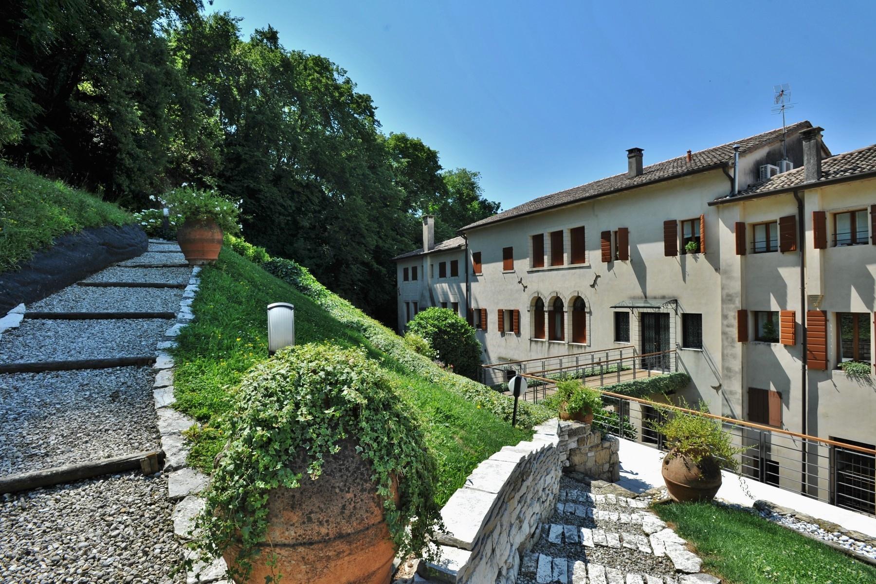 坐落于Asolo小镇典型的Veneta风格的别墅 - 12
