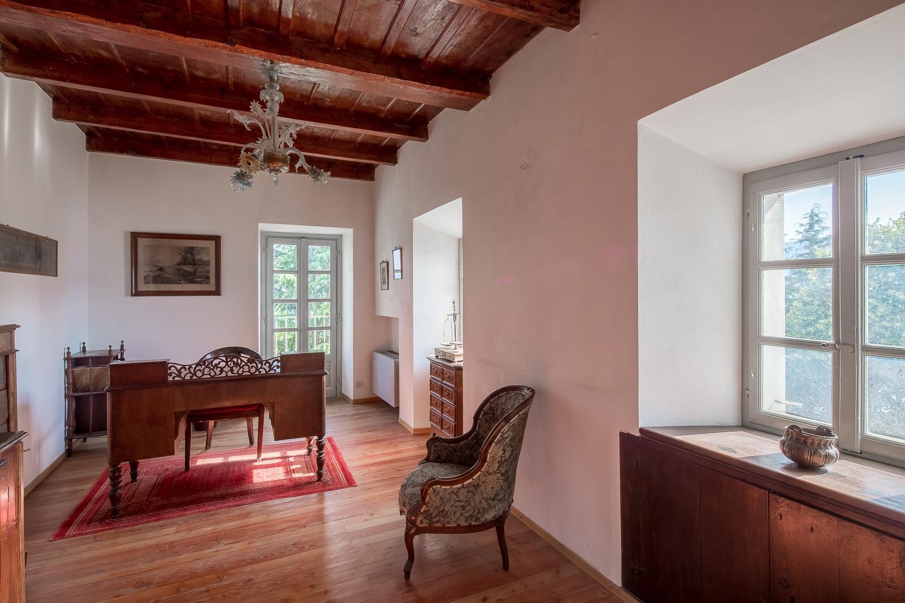 Бывший монастырь и вилла 19 века на Сакро-Монте - Орта Сан Джулио - 16