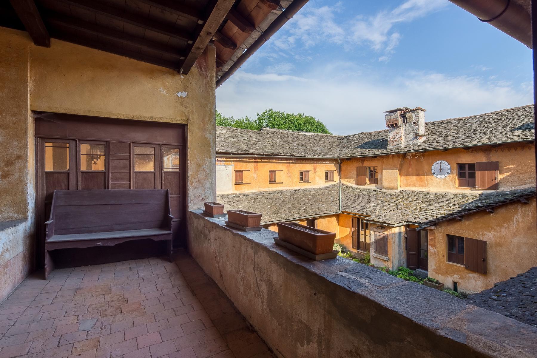 Бывший монастырь и вилла 19 века на Сакро-Монте - Орта Сан Джулио - 26