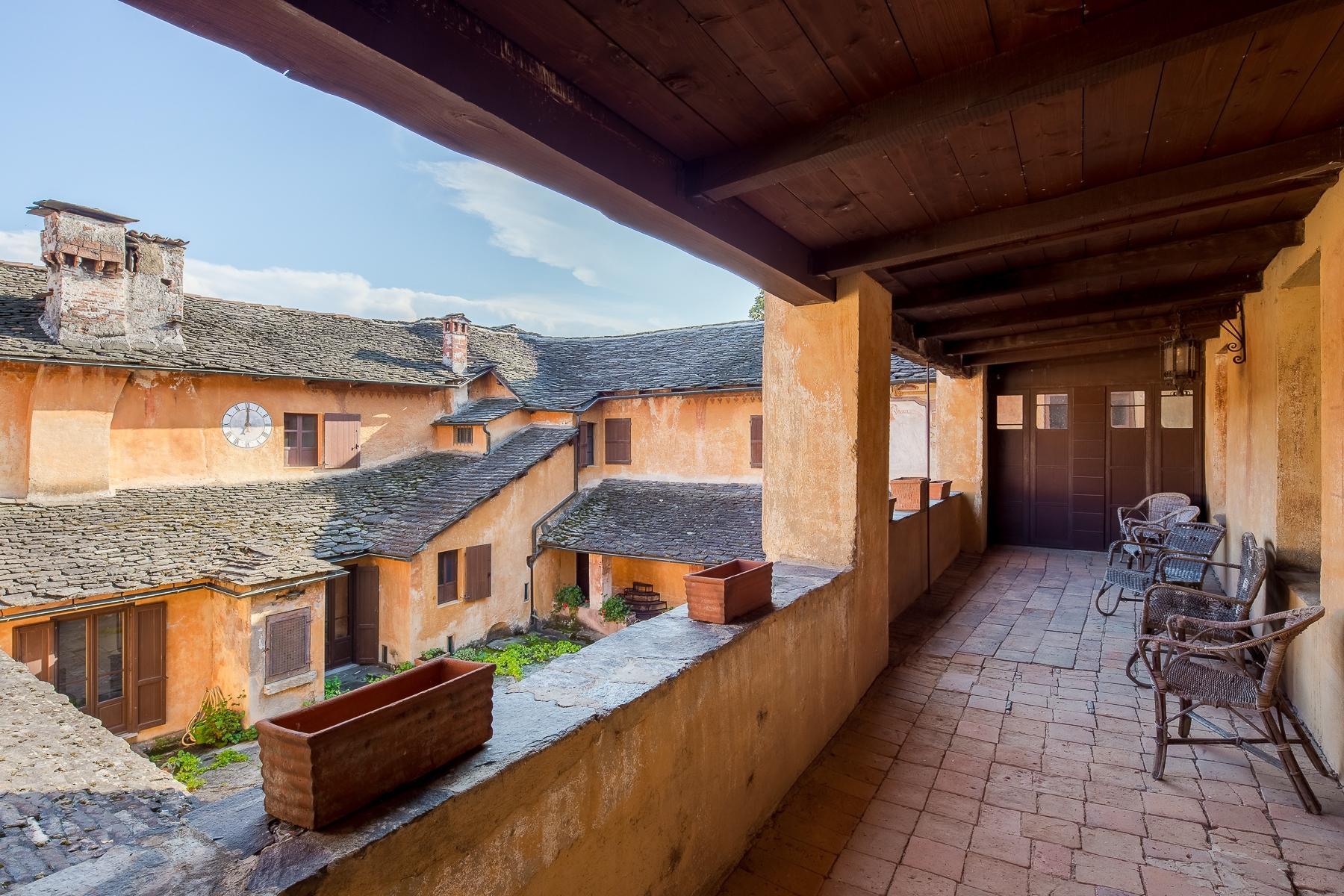 Бывший монастырь и вилла 19 века на Сакро-Монте - Орта Сан Джулио - 28