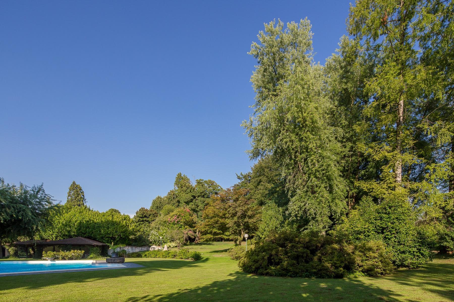 位于Ticino河岸边配有游泳池的别墅 - 33