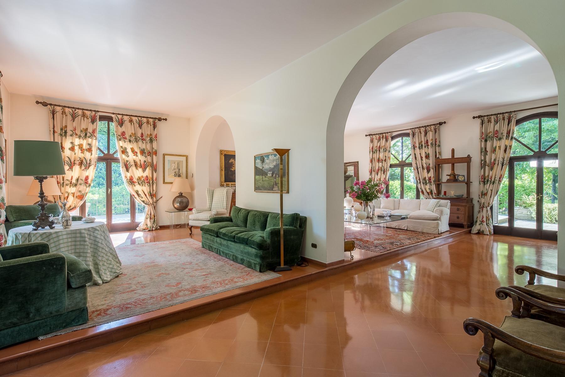 位于Ticino河岸边配有游泳池的别墅 - 9