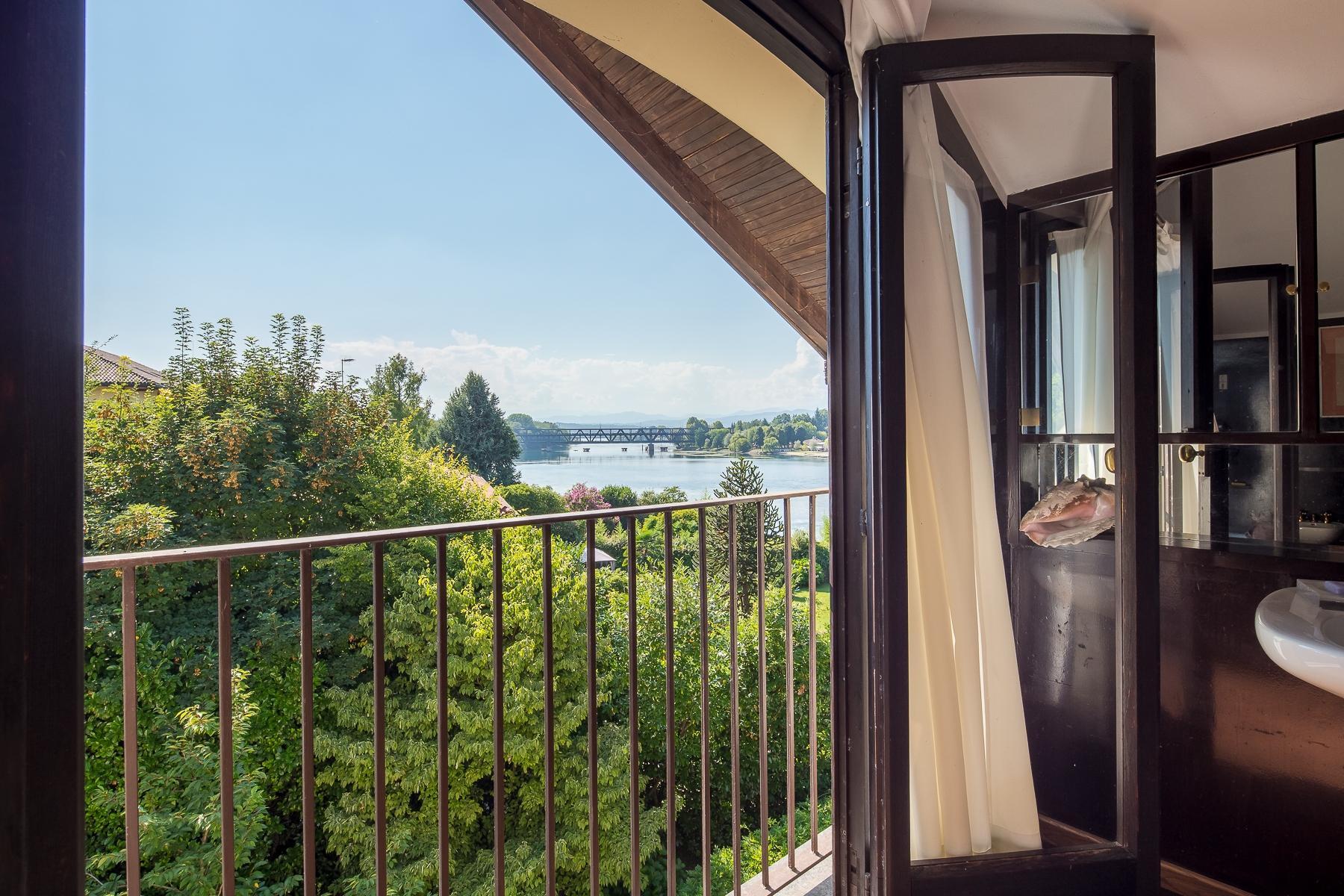 位于Ticino河岸边配有游泳池的别墅 - 17
