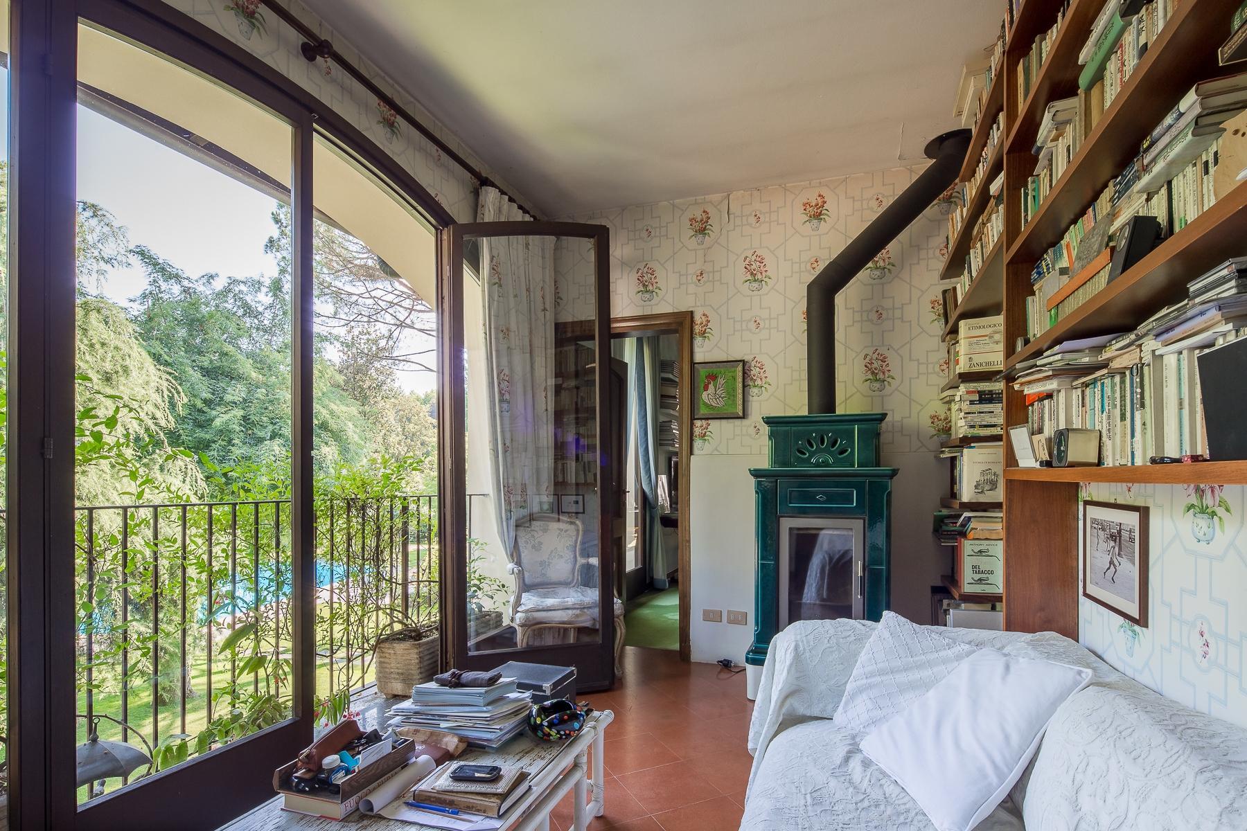 位于Ticino河岸边配有游泳池的别墅 - 21