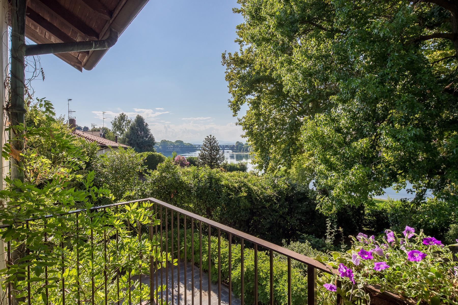 位于Ticino河岸边配有游泳池的别墅 - 26