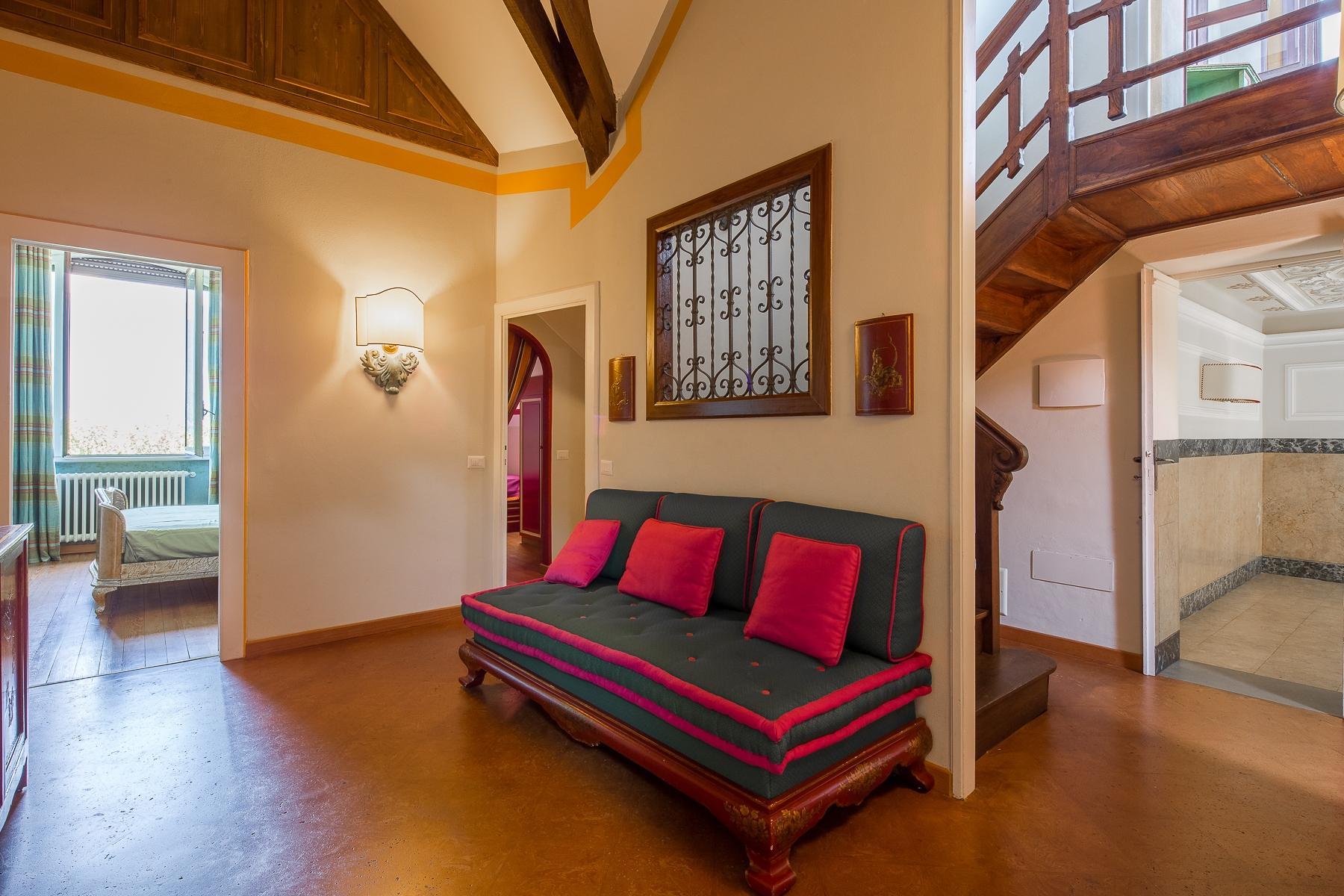 Maggiore湖岸边新艺术风格的别墅 - 27