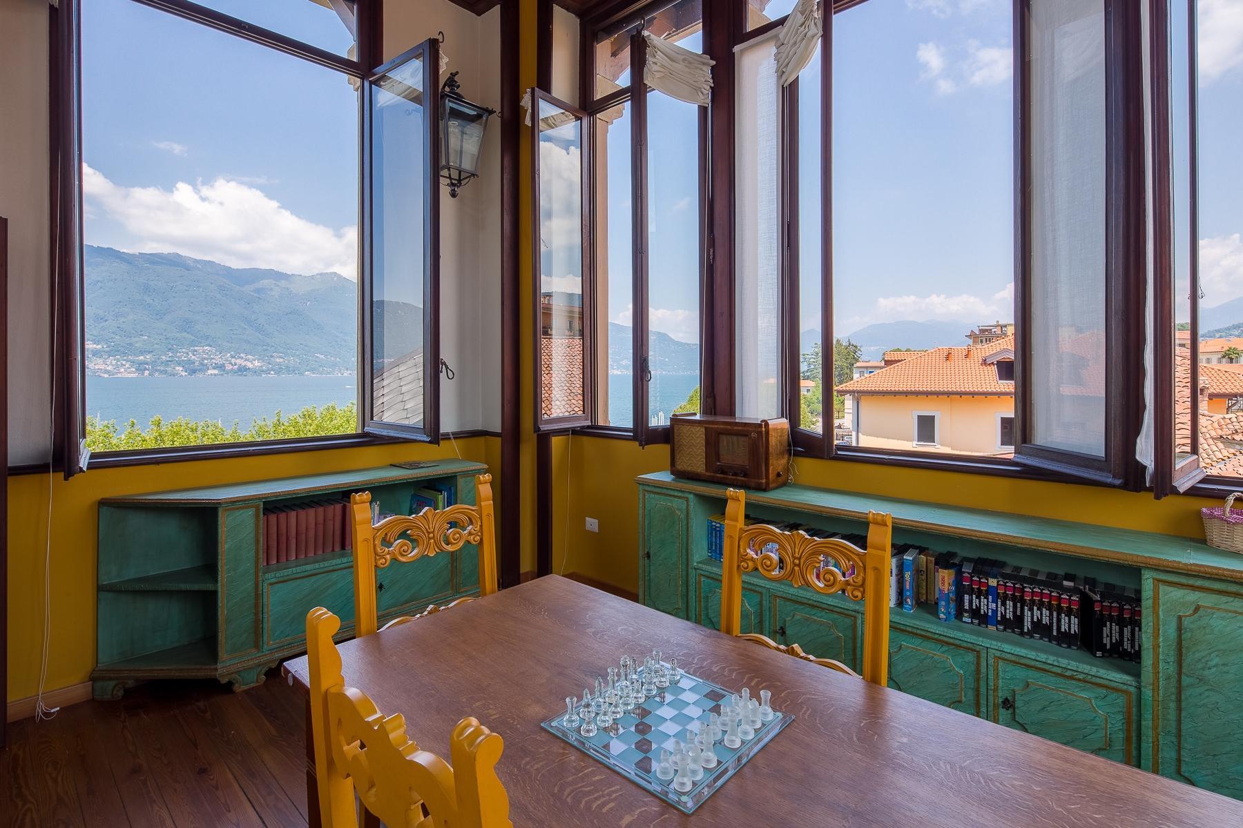 Maggiore湖岸边新艺术风格的别墅 - 33