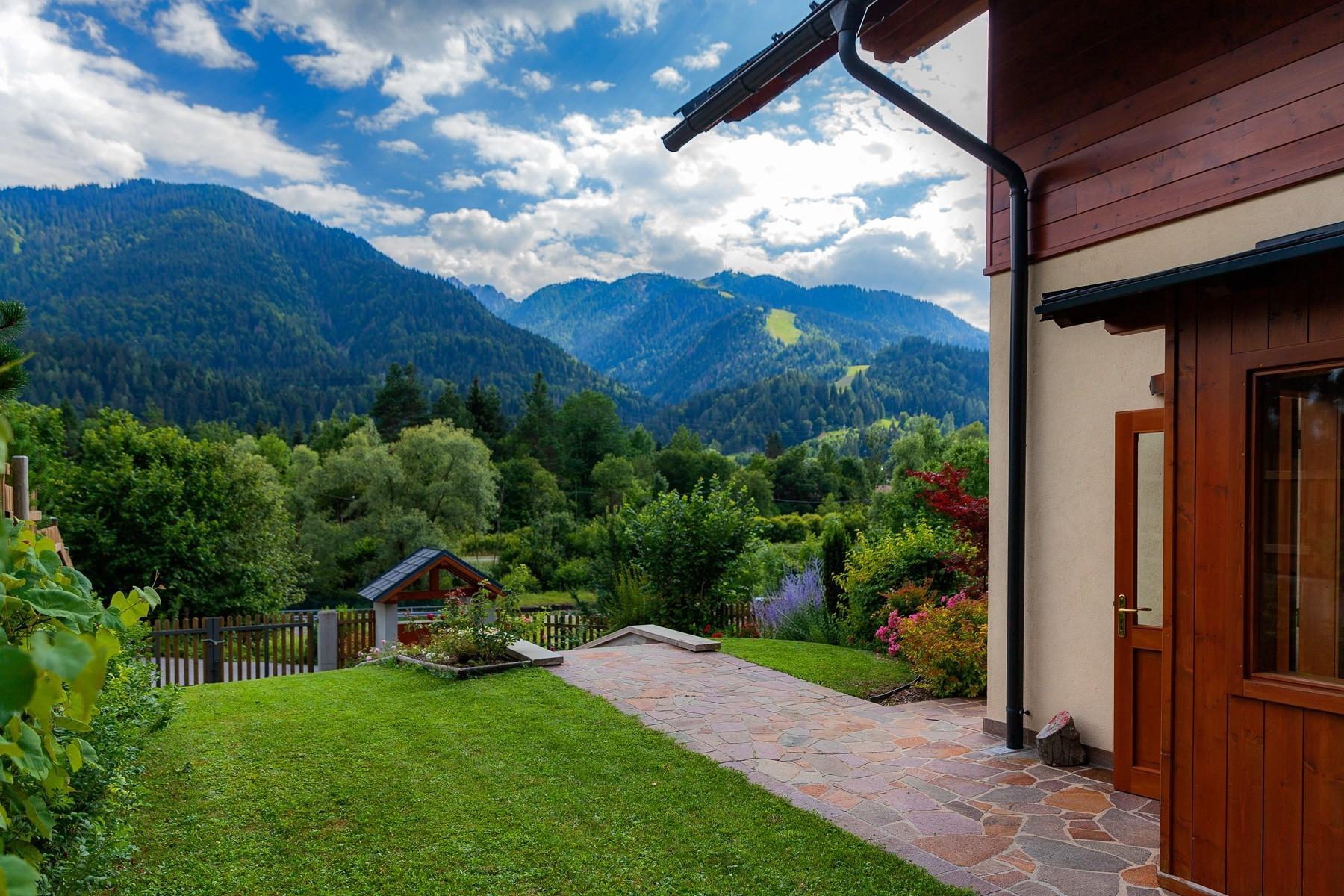 Bellissimo chalet con strepitosa vista sulle Alpi Giulie - 3