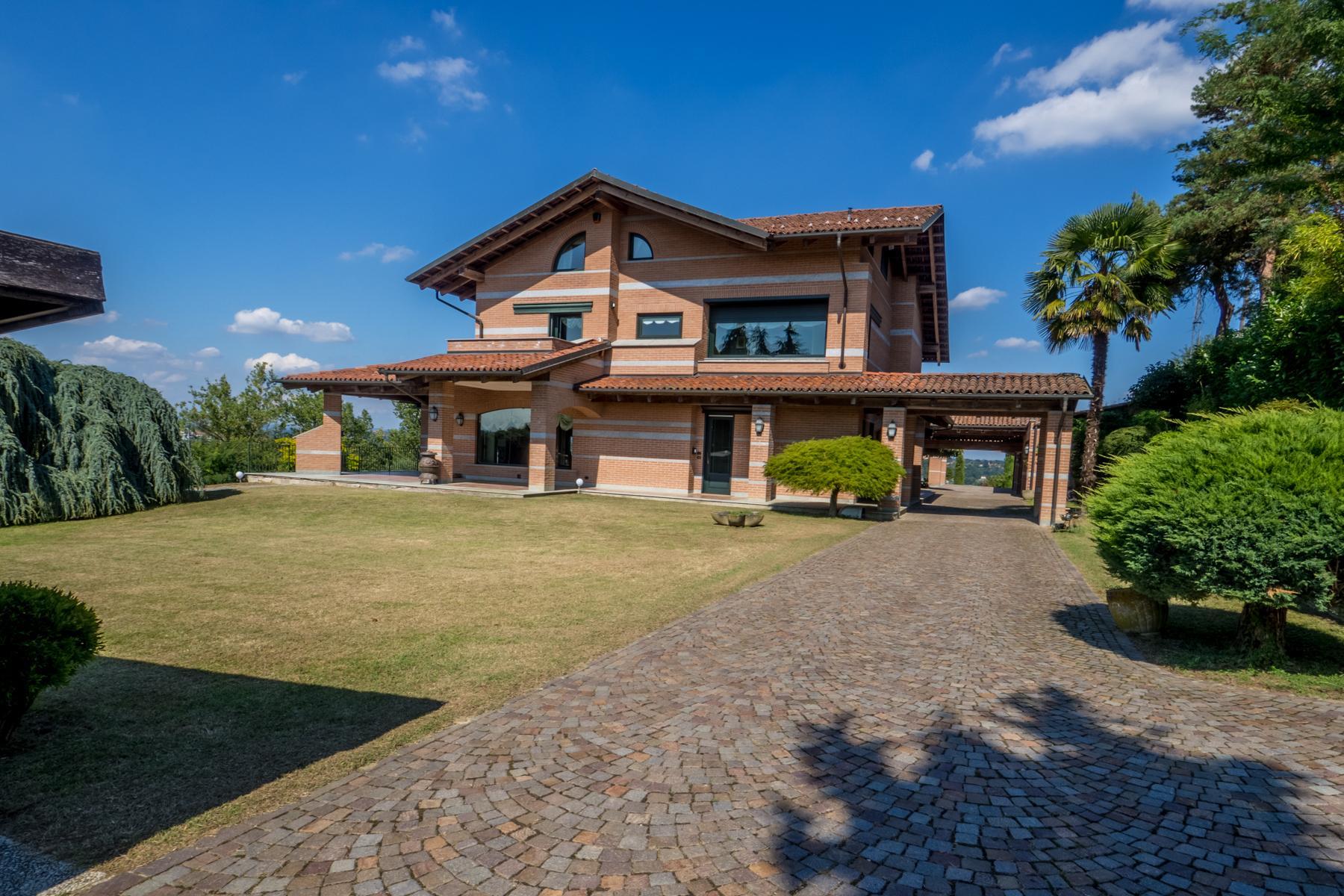 Meravigliosa villa moderna sulle colline del Monferrato - 1
