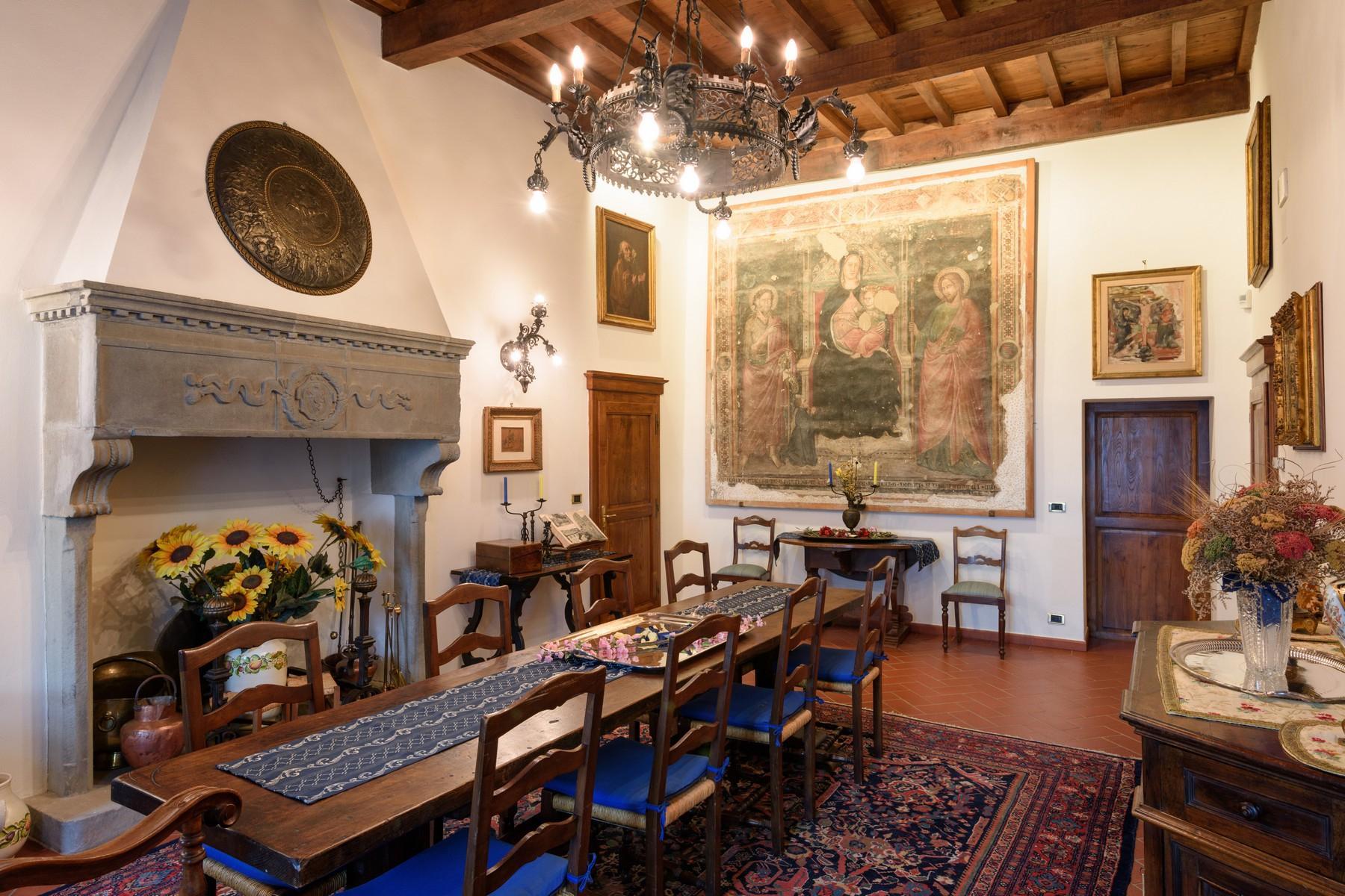 Palais historique du Xe siècle au coeur de la Val di Chiana - 9